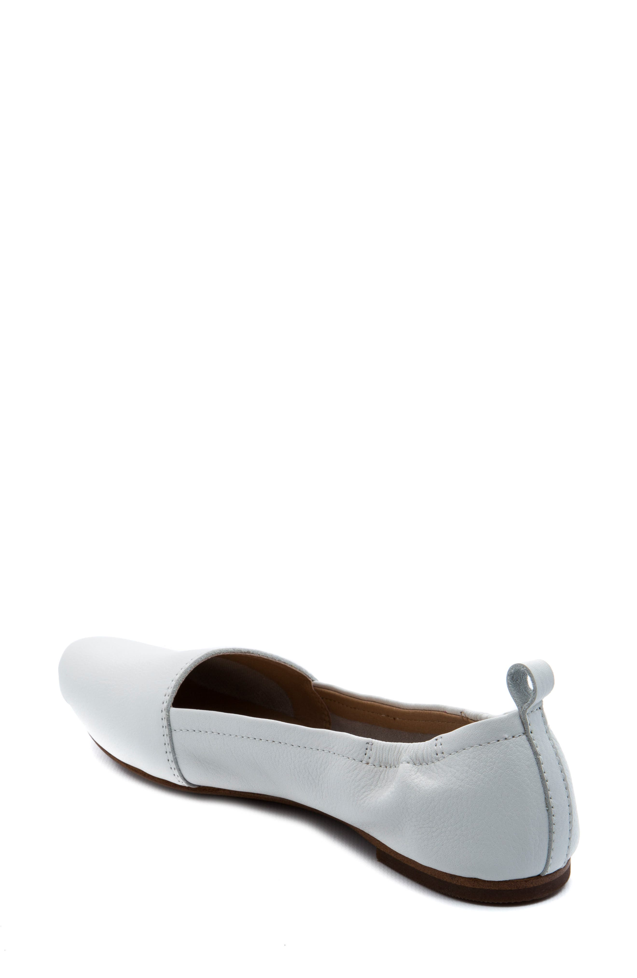 'Bettie' Leather Flat,                             Alternate thumbnail 10, color,