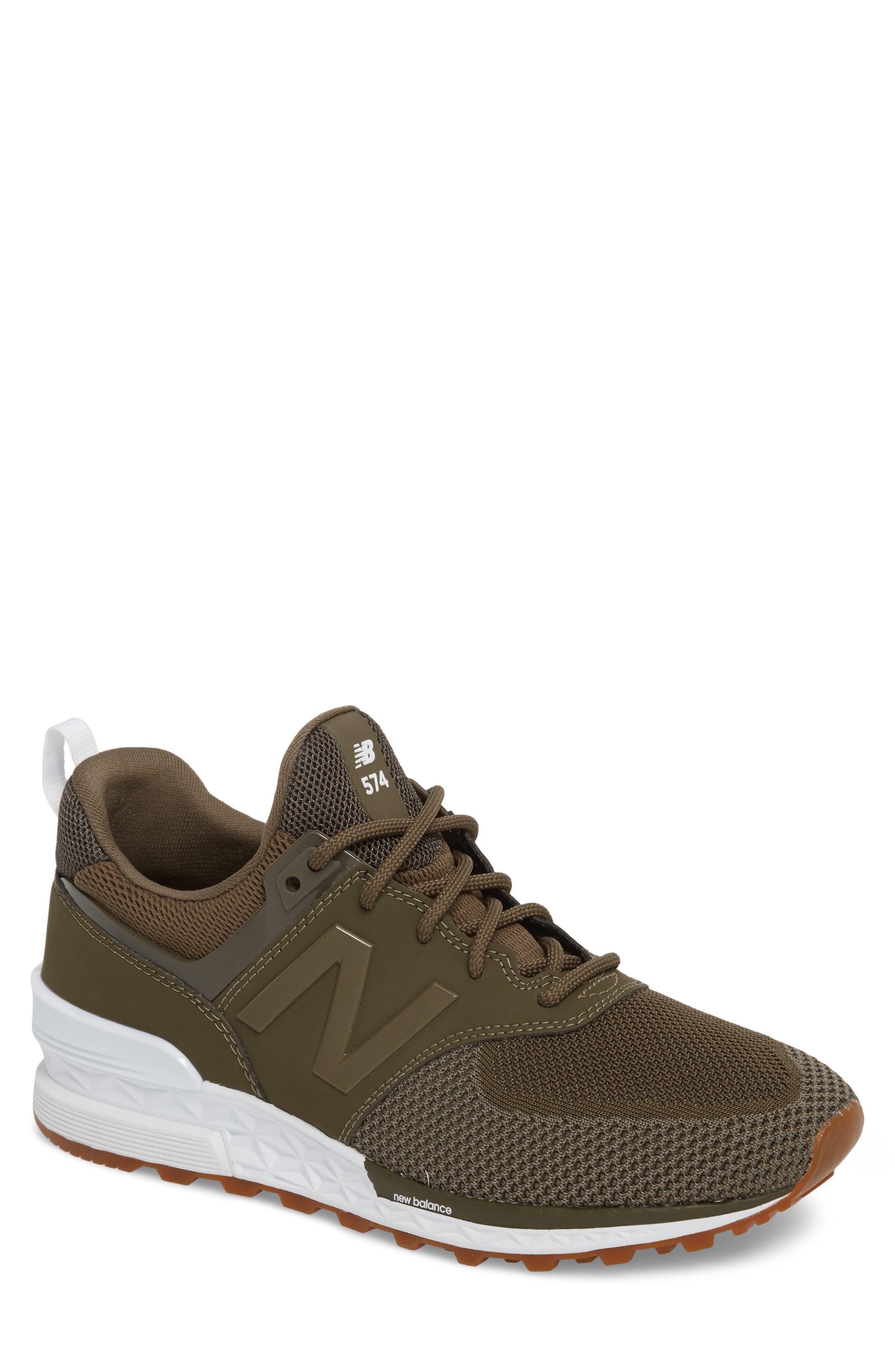 574 Engineered Mesh Sneaker,                         Main,                         color, 338