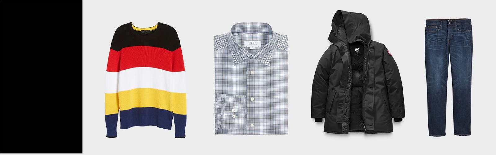 What to wear right now.