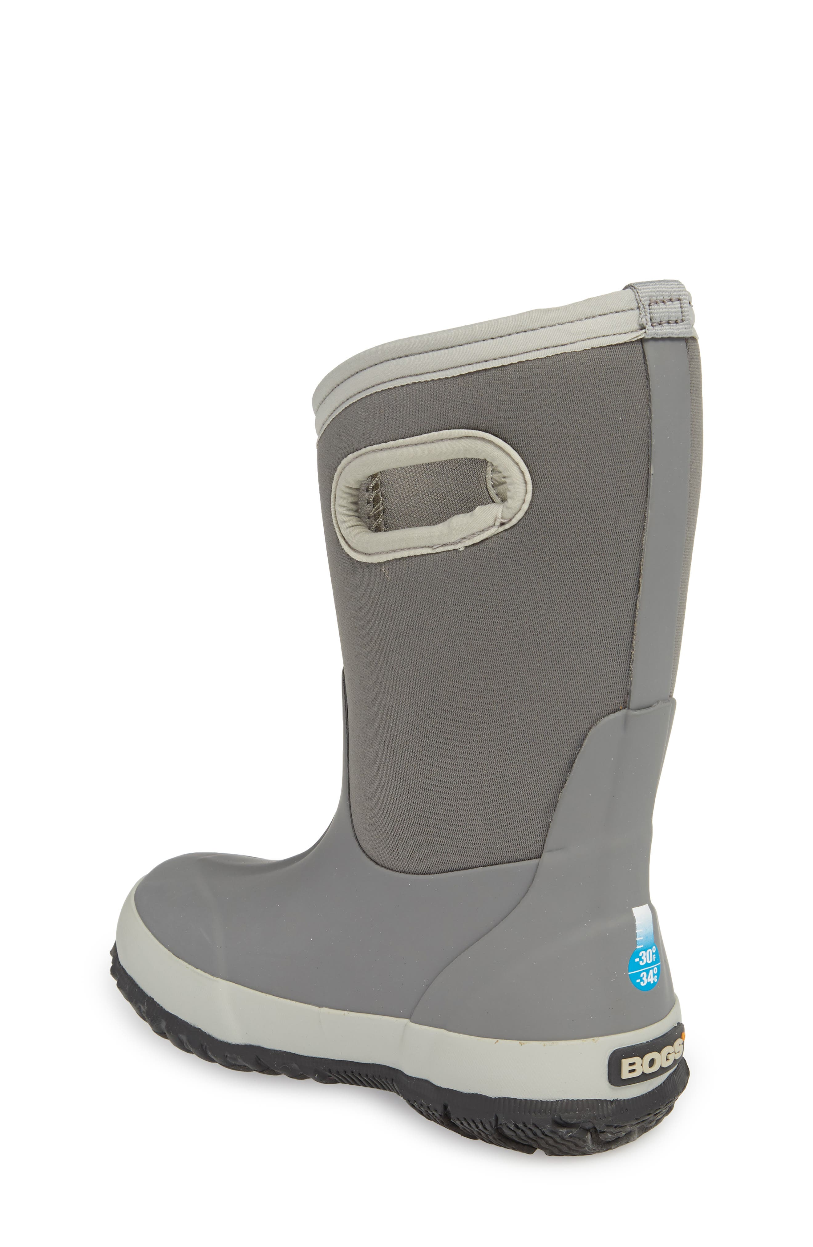 Classic Solid Insulated Boot,                             Alternate thumbnail 2, color,                             LIGHT GRAY