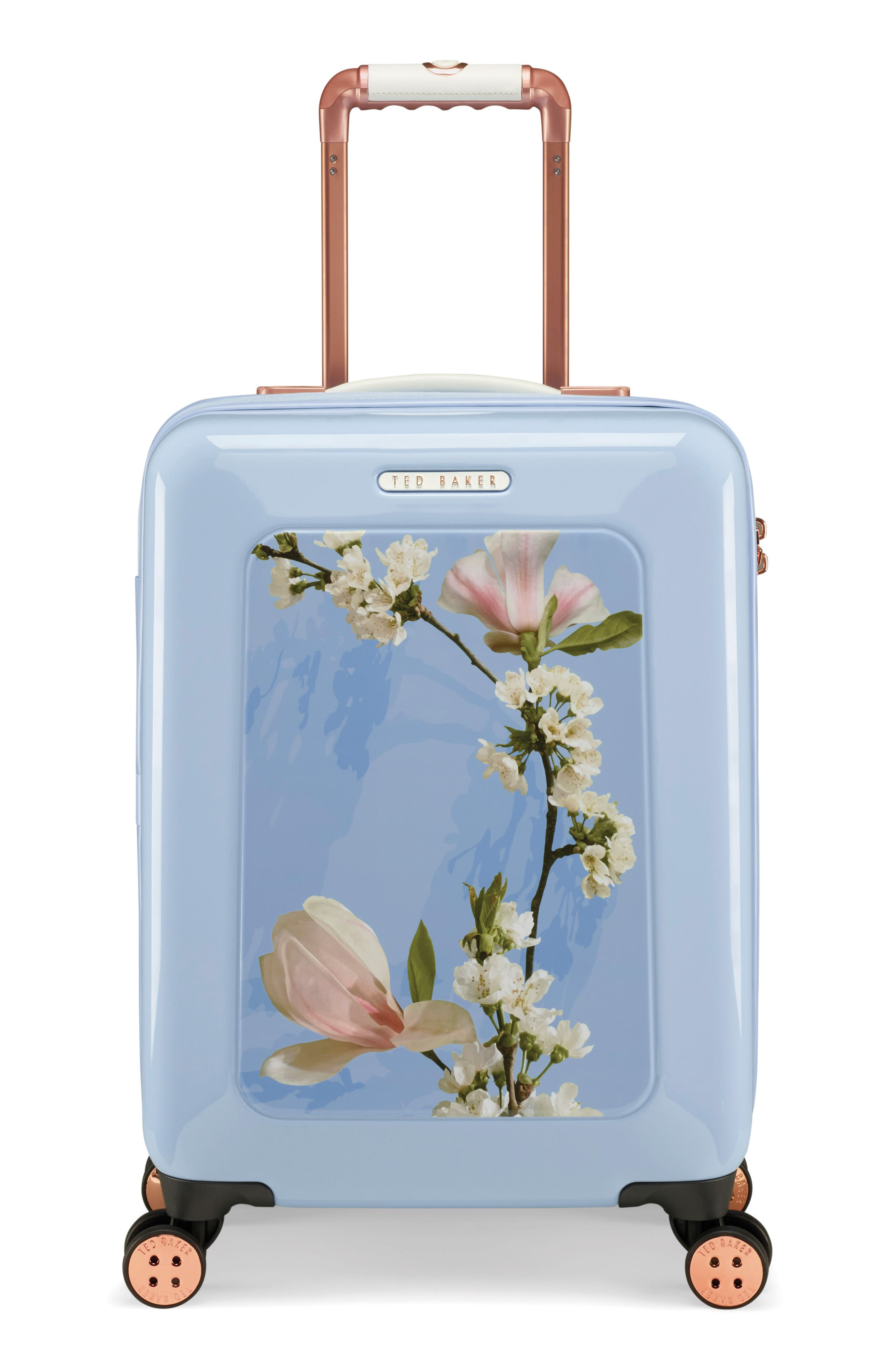 Small Harmony 21-Inch Spinner Carry-On,                             Main thumbnail 1, color,                             BLUE