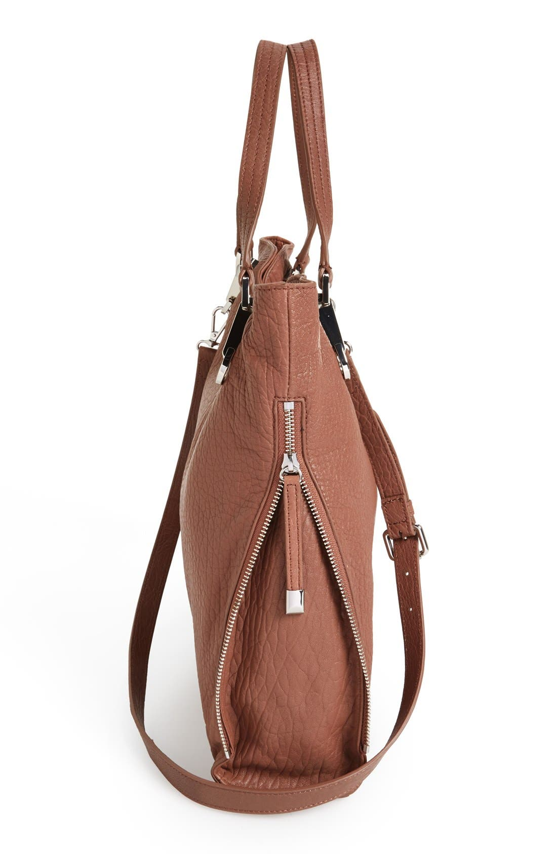 'Riley' Leather Tote,                             Alternate thumbnail 64, color,