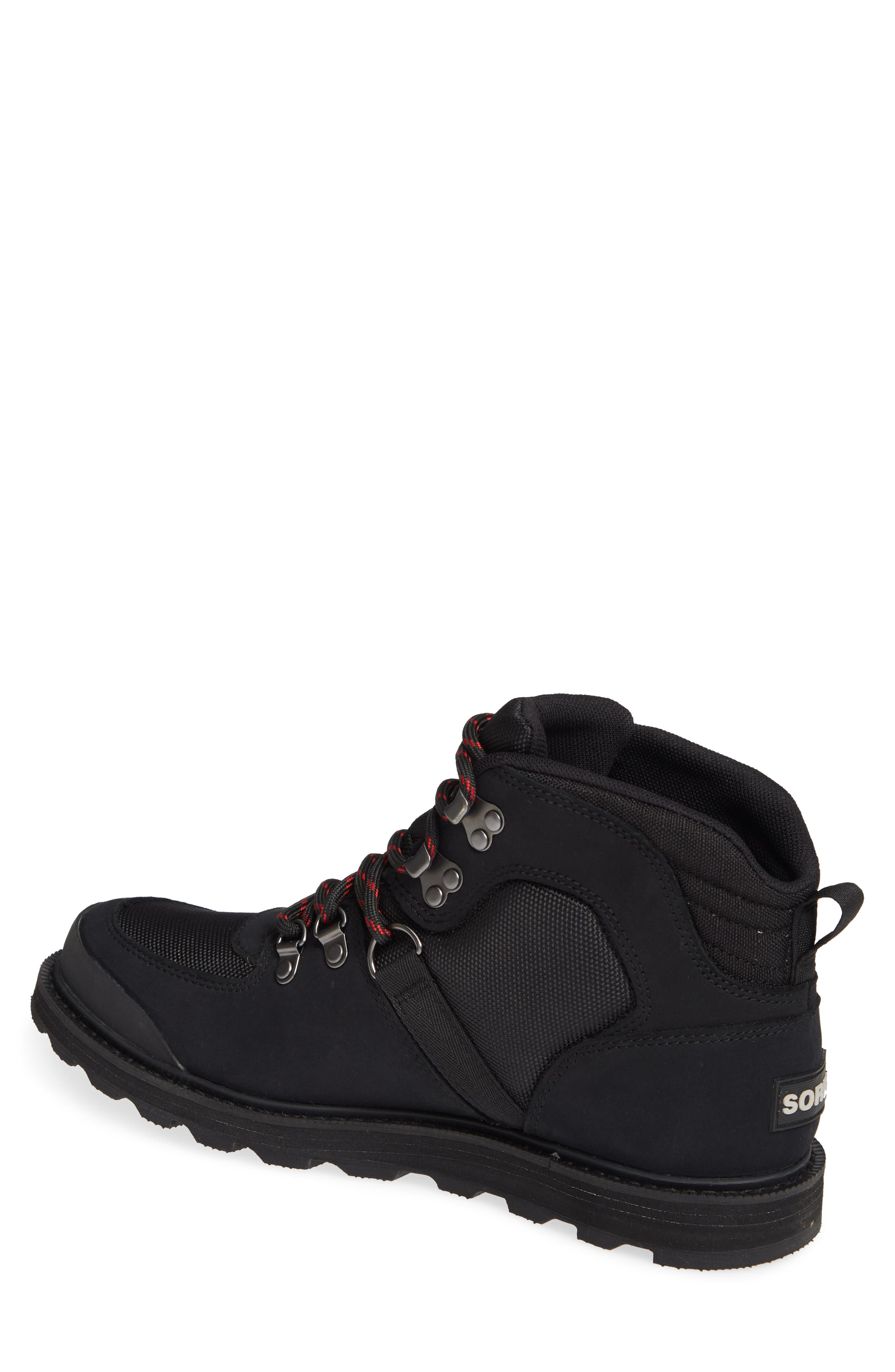 Madson Sport Waterproof Hiking Boot,                             Alternate thumbnail 2, color,                             BLACK