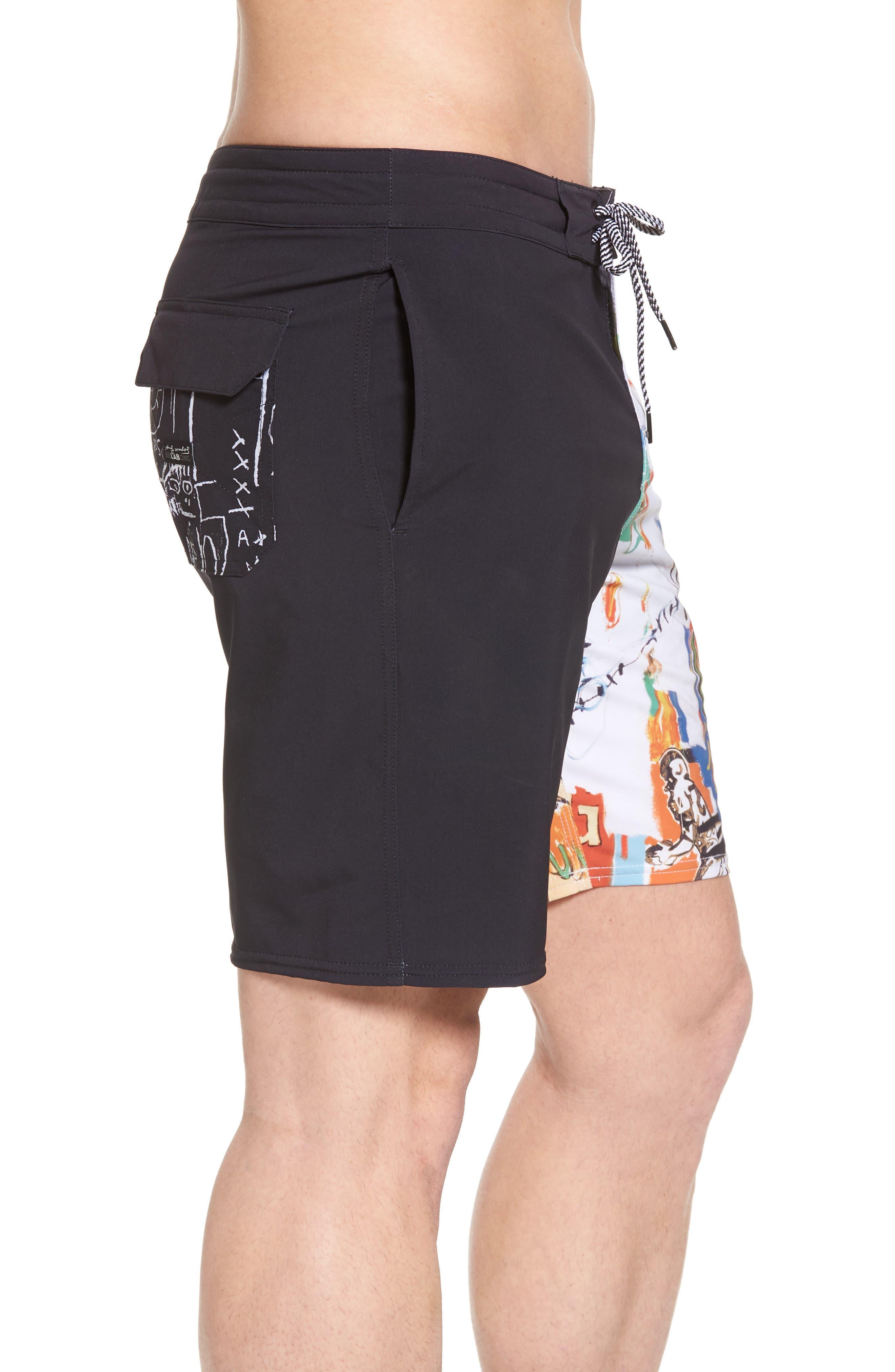 x Warhol 699 Board Shorts,                             Alternate thumbnail 3, color,                             100