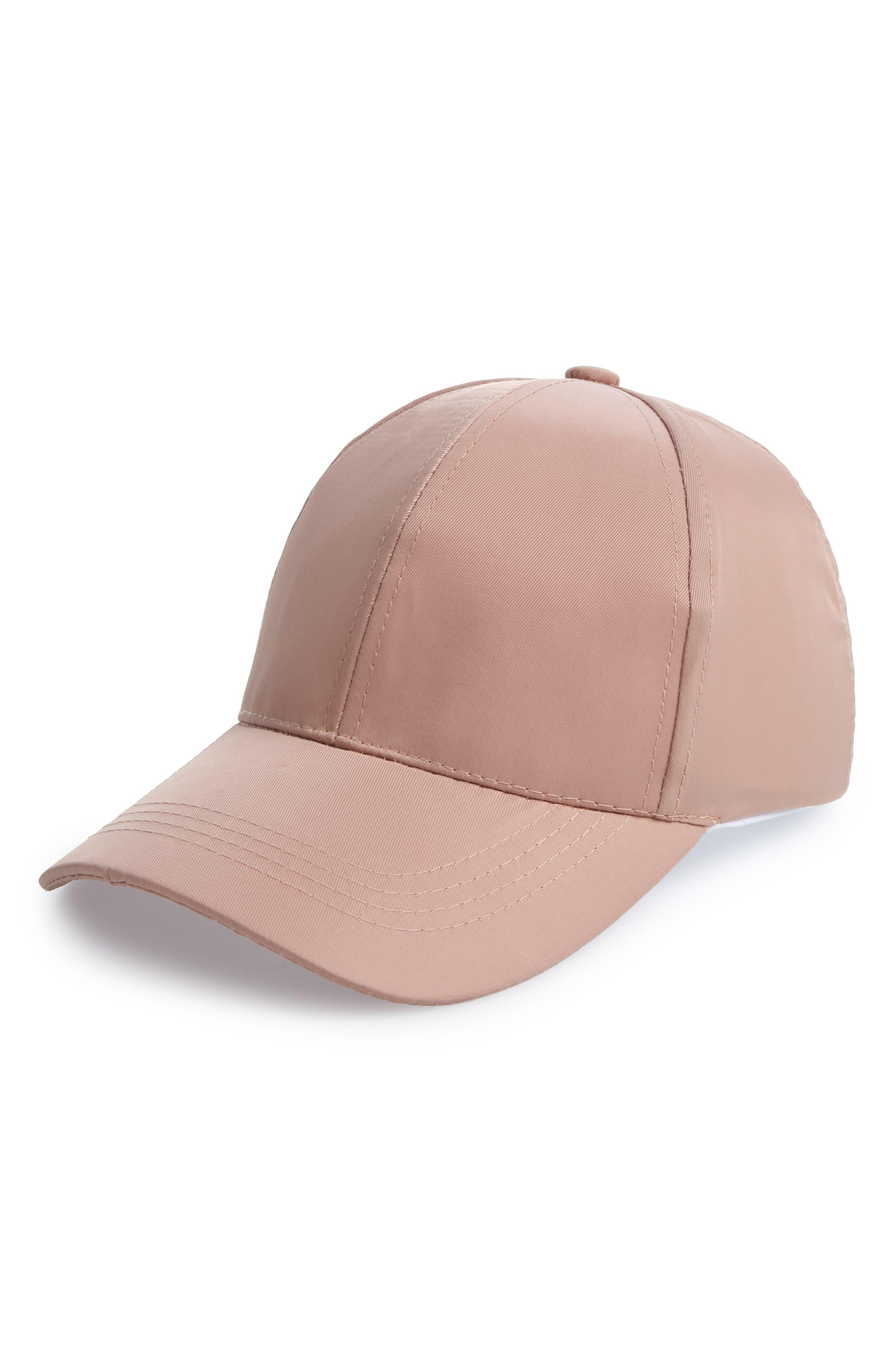 Water Repellent Baseball Hat,                         Main,                         color, GREY CRYSTAL