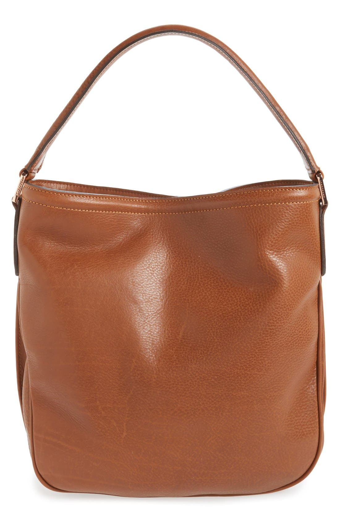 'Mystery' Leather Hobo,                             Alternate thumbnail 12, color,