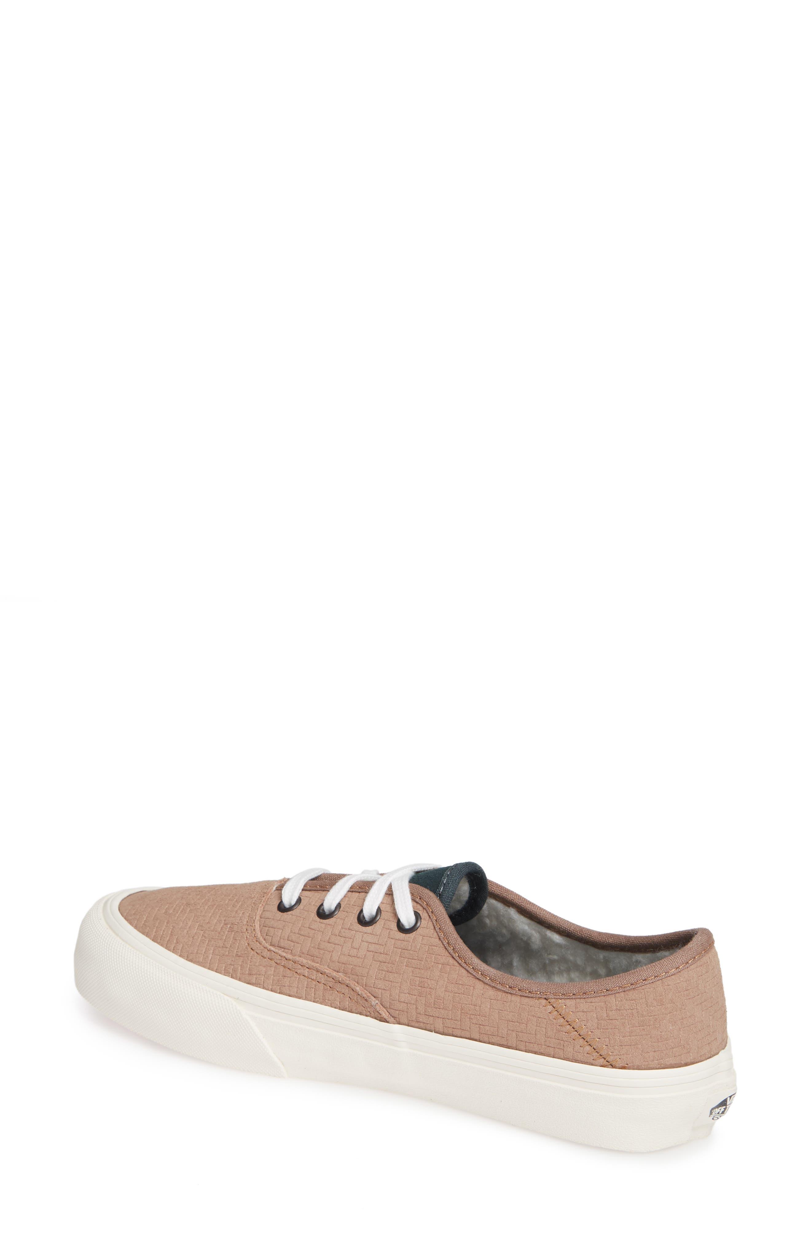UA Authentic SF Collapsible Heel Sneaker,                             Alternate thumbnail 2, color,                             WOODSMOKE/ DARKEST SPRUCE