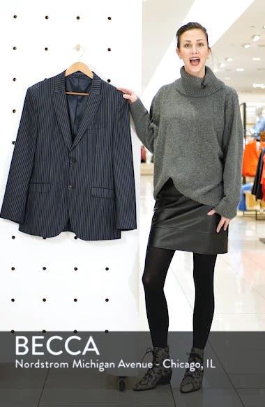 Tailored Pinstripe Suit Jacket, sales video thumbnail
