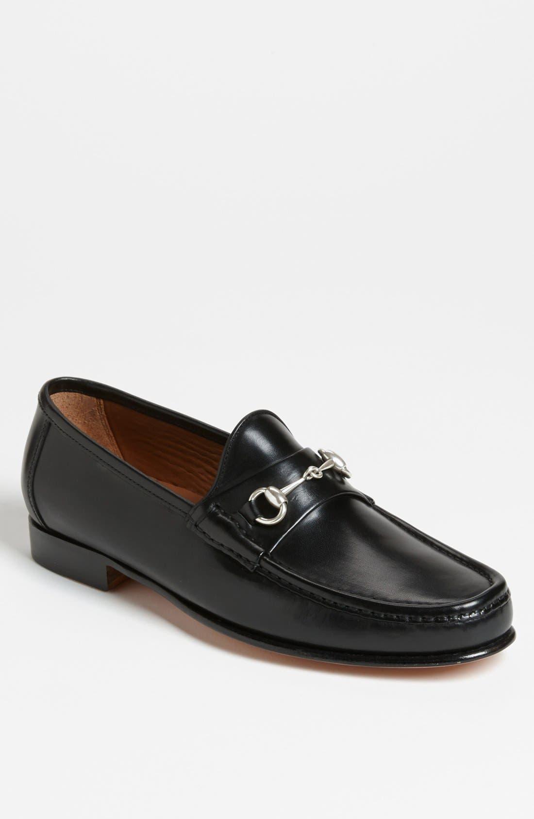 Verona II Bit Loafer,                         Main,                         color, BLACK