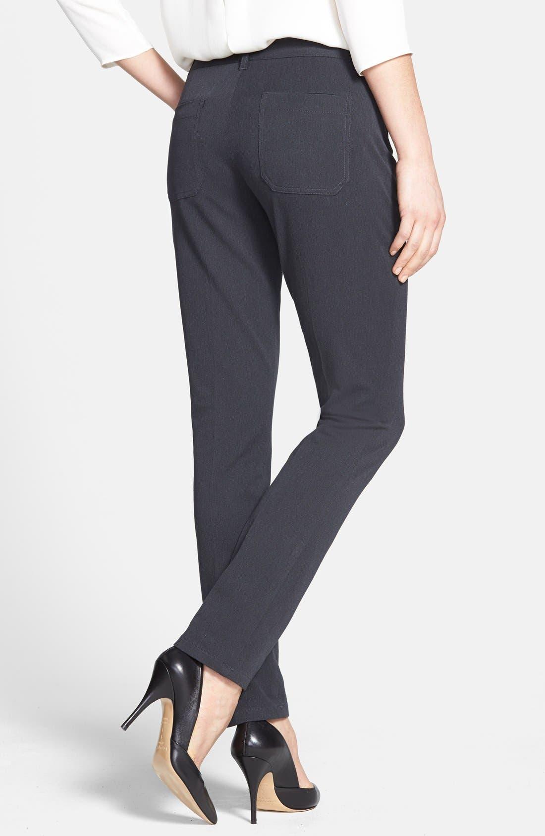 'Dantey' Slim Leg Pants,                             Alternate thumbnail 3, color,                             001