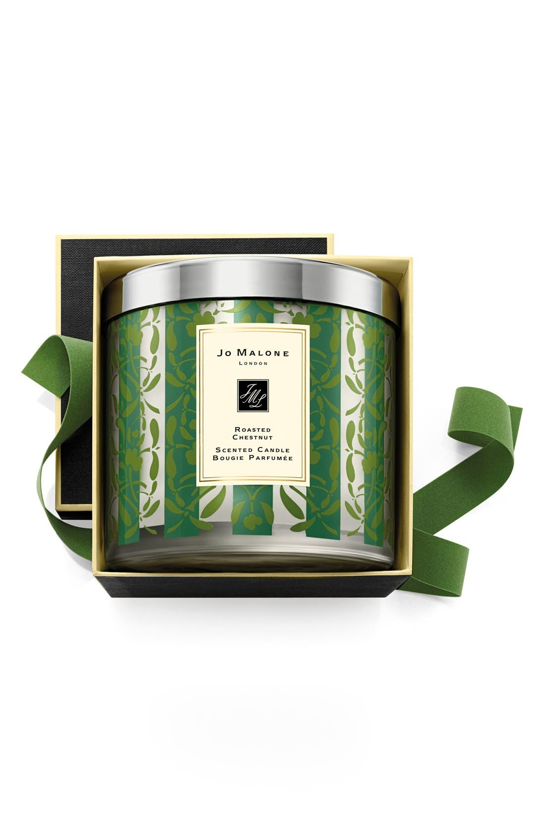 Jo Malone<sup>™</sup> 'Roasted Chestnut' Deluxe Candle,                             Main thumbnail 1, color,                             000