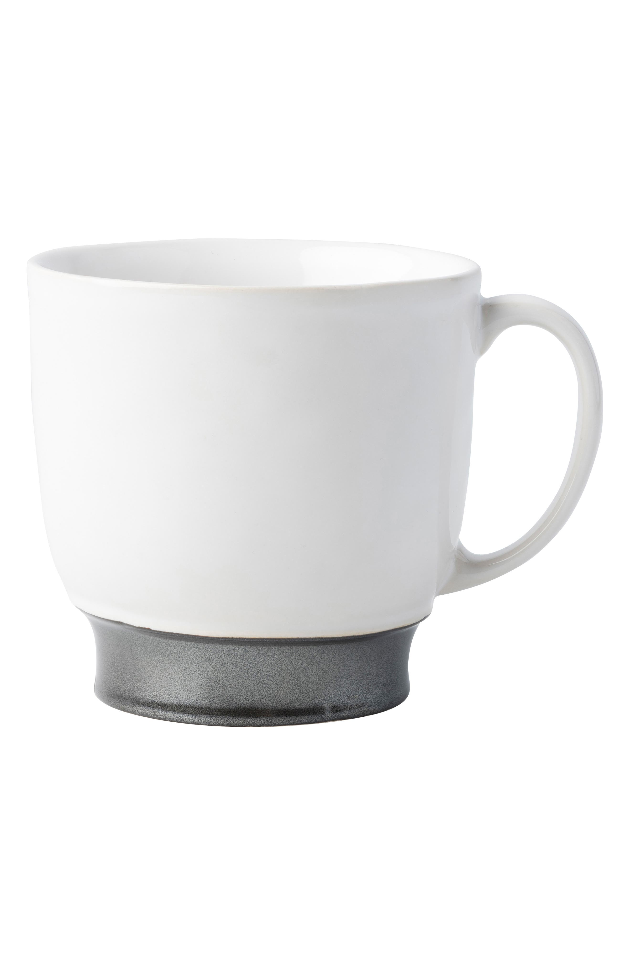 Emerson Coffee & Tea Cup, Main, color, PEWTER