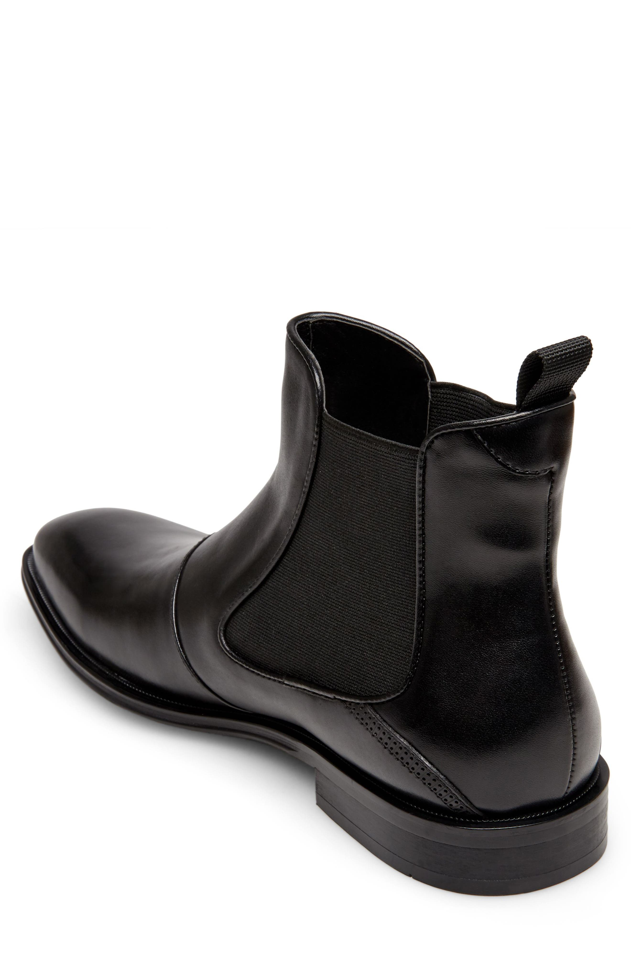 Malice Chelsea Boot,                             Alternate thumbnail 2, color,                             BLACK LEATHER