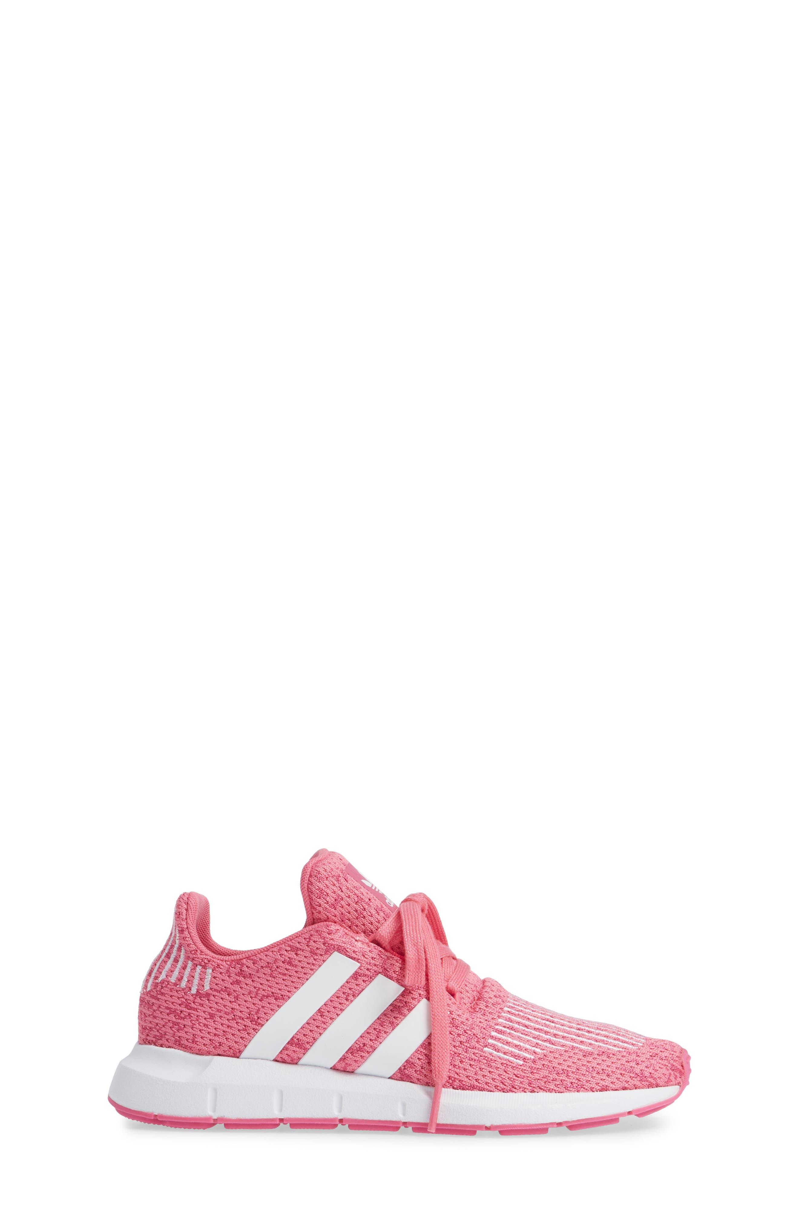 Swift Run J Sneaker,                             Alternate thumbnail 3, color,                             SEMI SOLAR PINK/ WHITE