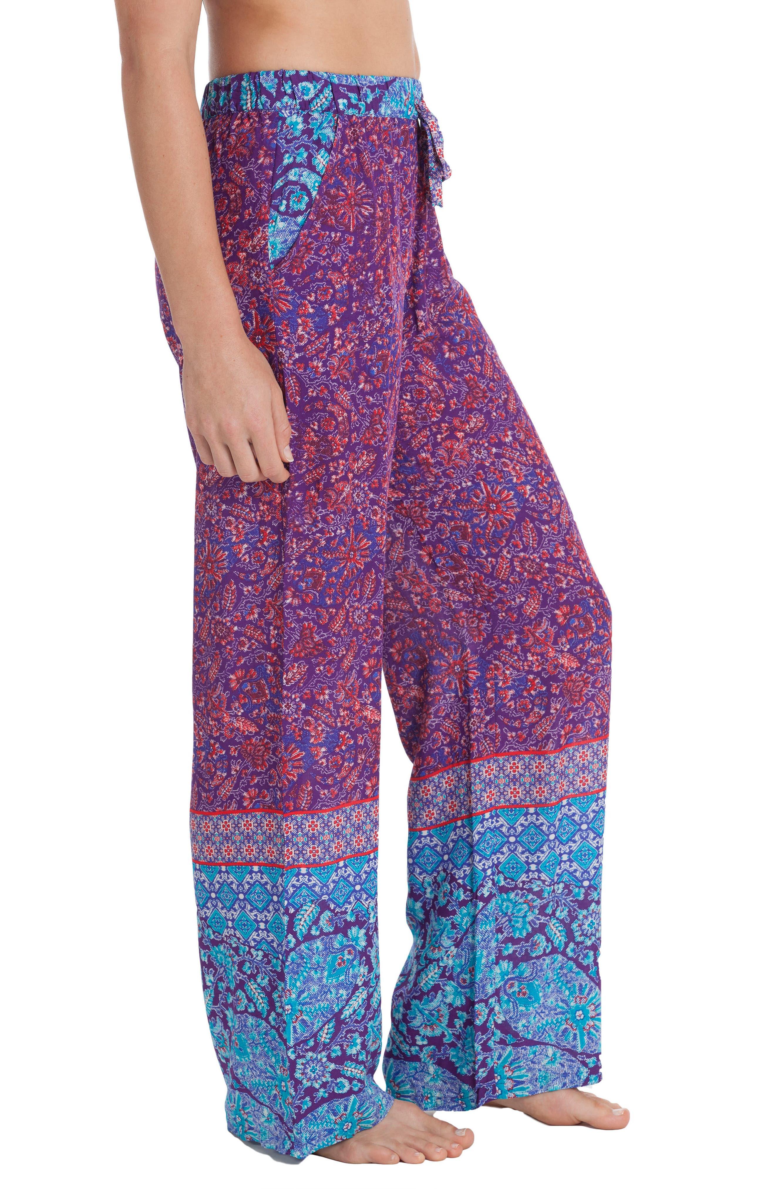 Wide Leg Pants,                             Alternate thumbnail 3, color,                             500