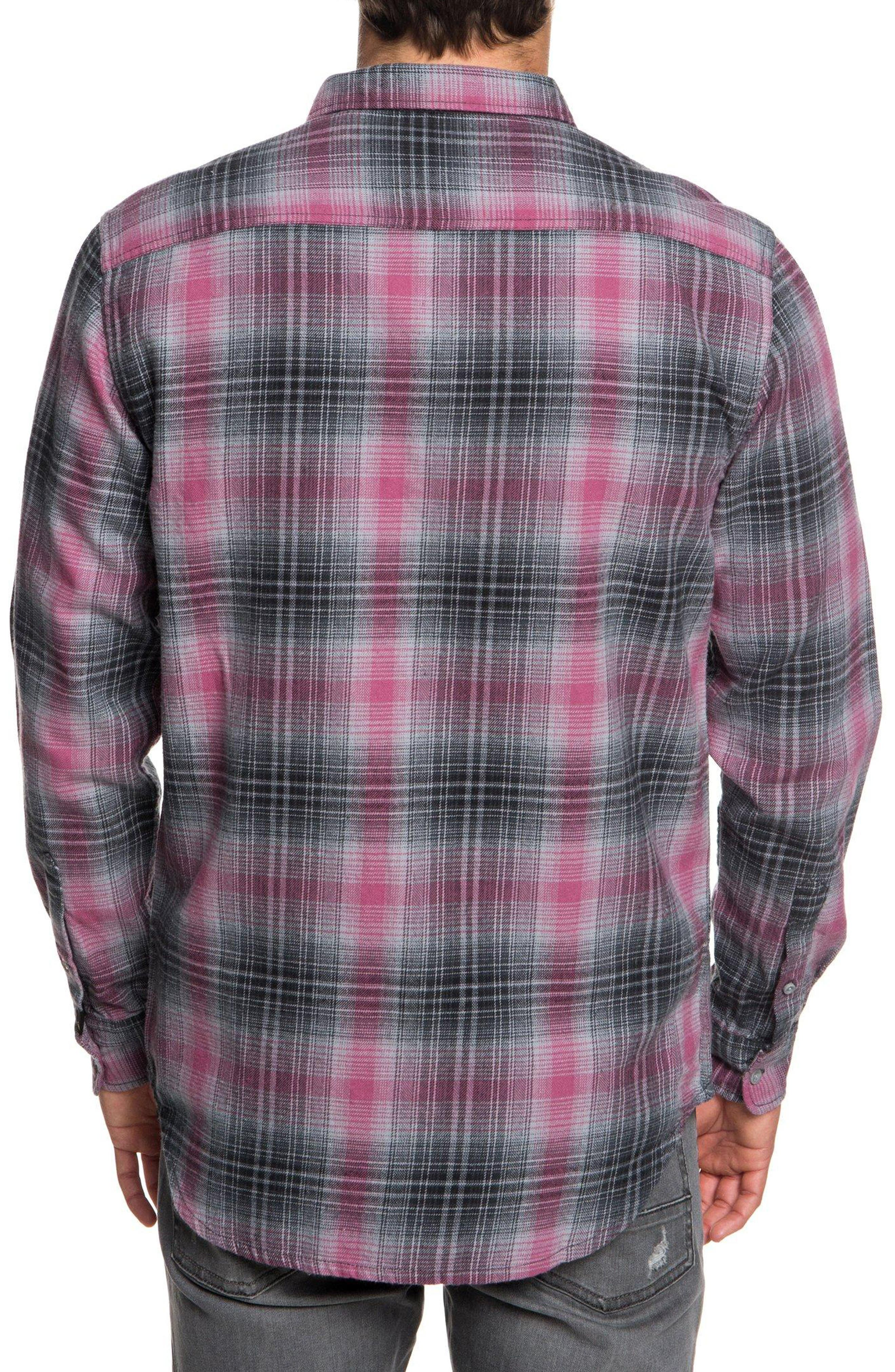 Fatherfly Flannel Shirt,                             Alternate thumbnail 2, color,                             TARMAC FATHERFLY CHECK