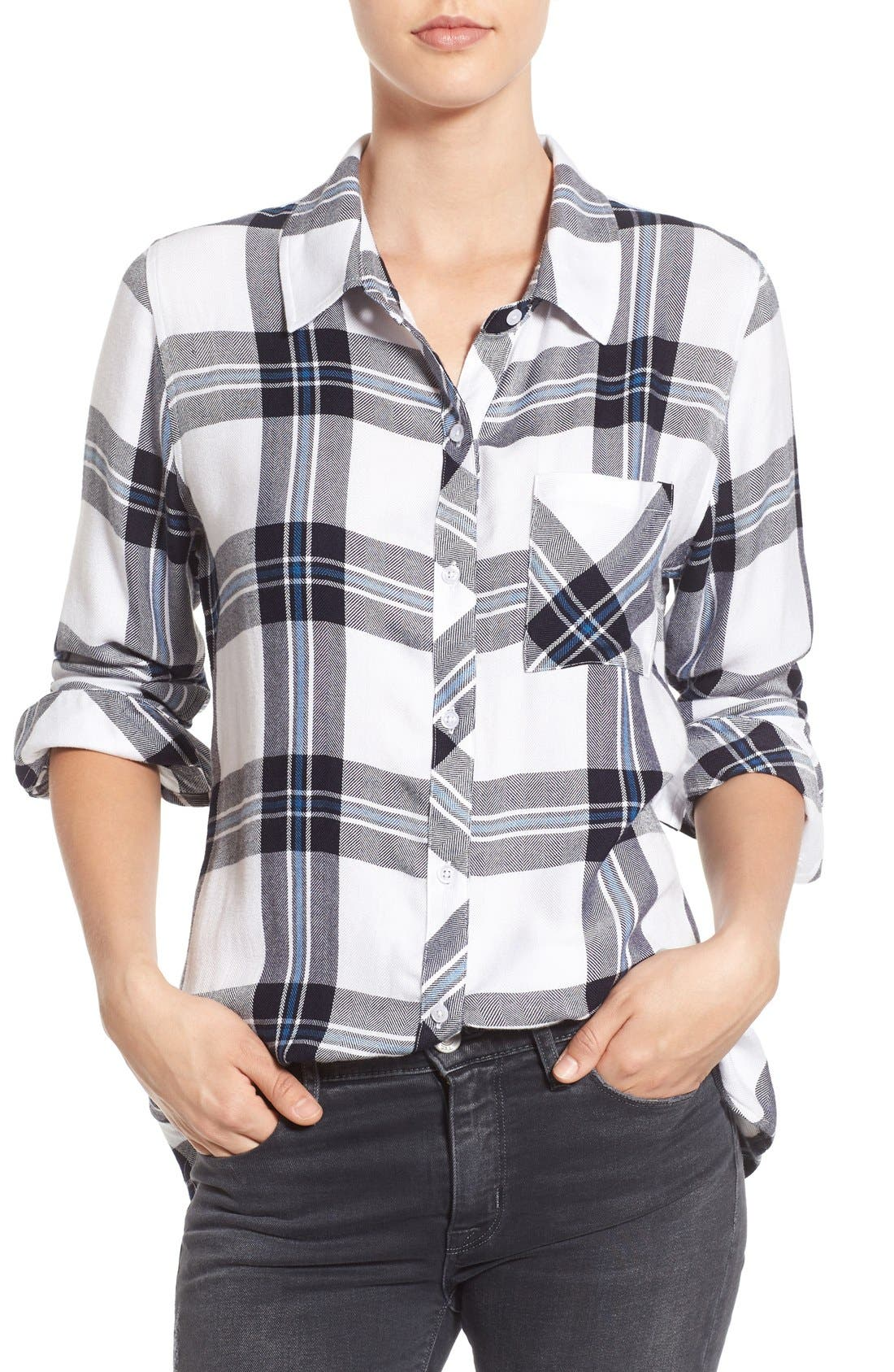Hunter Plaid Shirt,                             Main thumbnail 106, color,