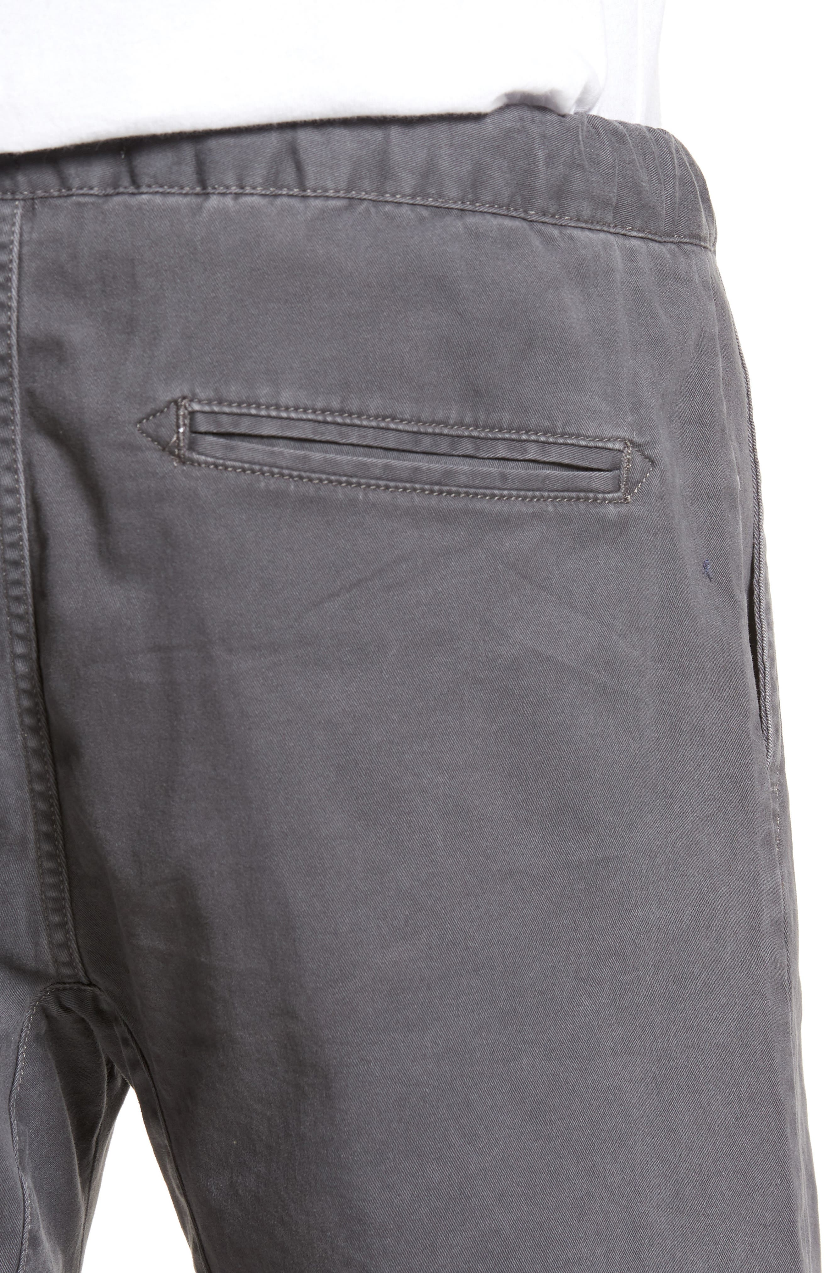 Jogger Shorts,                             Alternate thumbnail 4, color,                             GREY ONYX