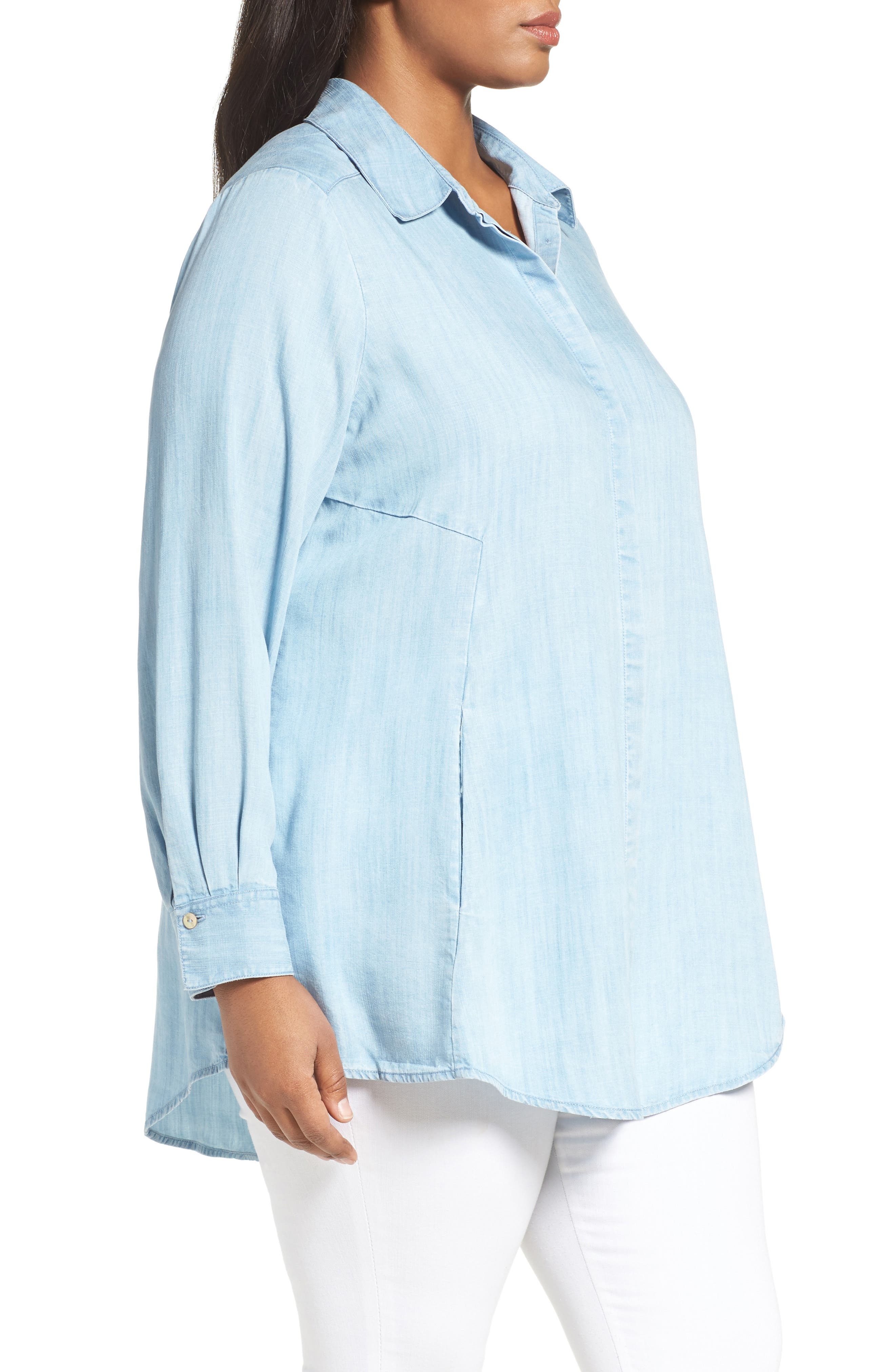 Chambray Tunic,                             Alternate thumbnail 12, color,