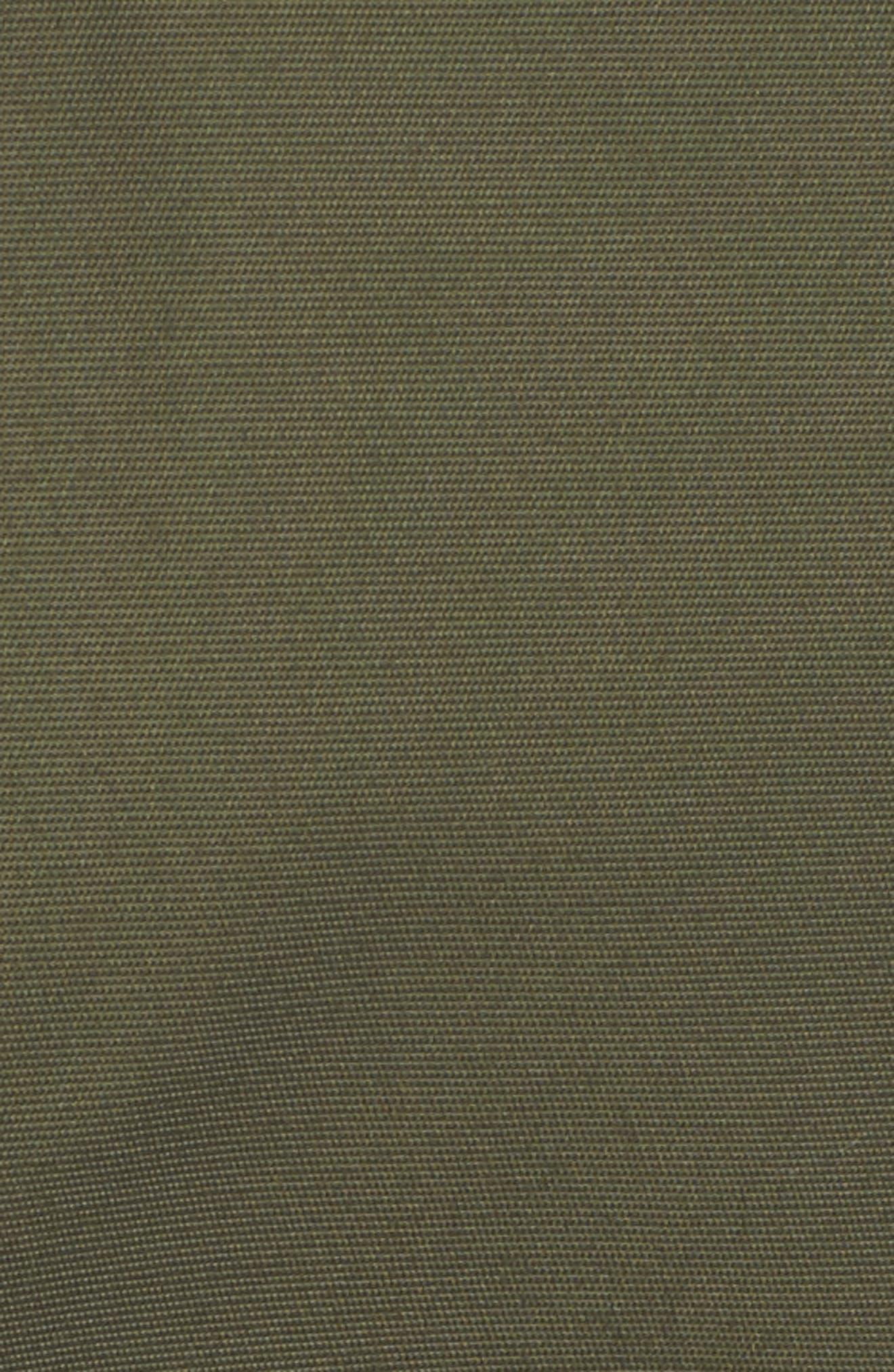 Genuine Fox Fur Trim Hooded Down Jacket,                             Alternate thumbnail 6, color,                             300