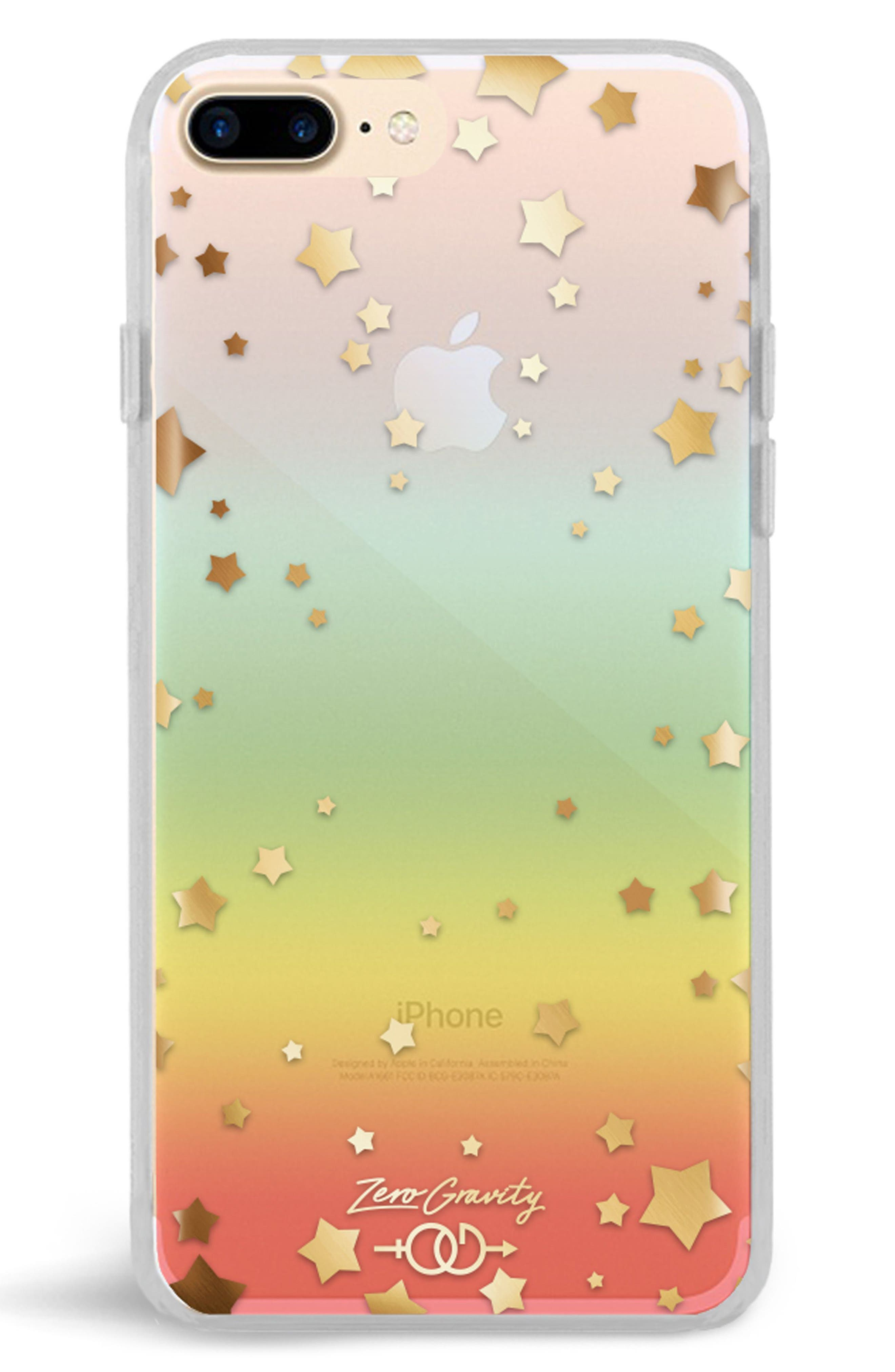 Infinity iPhone 7/8 & 7/8 Plus Case,                             Alternate thumbnail 2, color,                             CLEAR RAINBOW