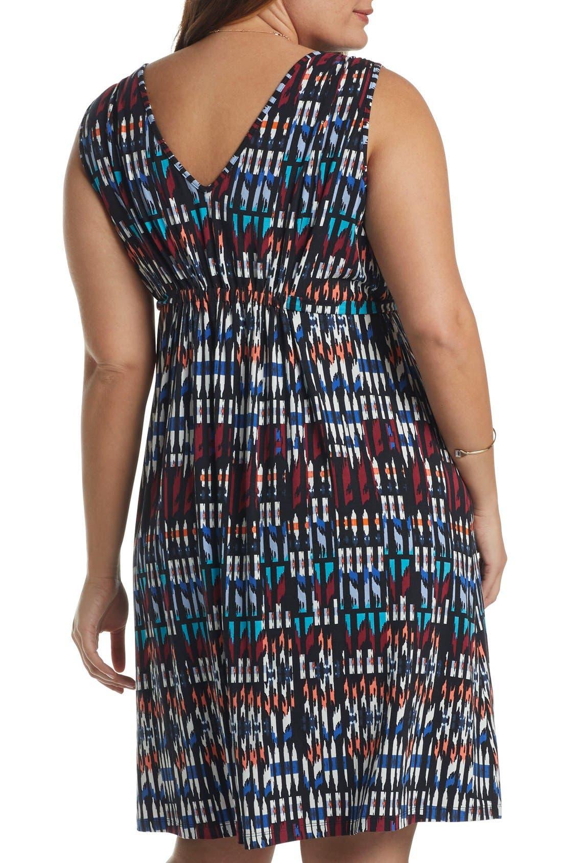 Grecia Jersey Dress,                             Alternate thumbnail 3, color,                             005