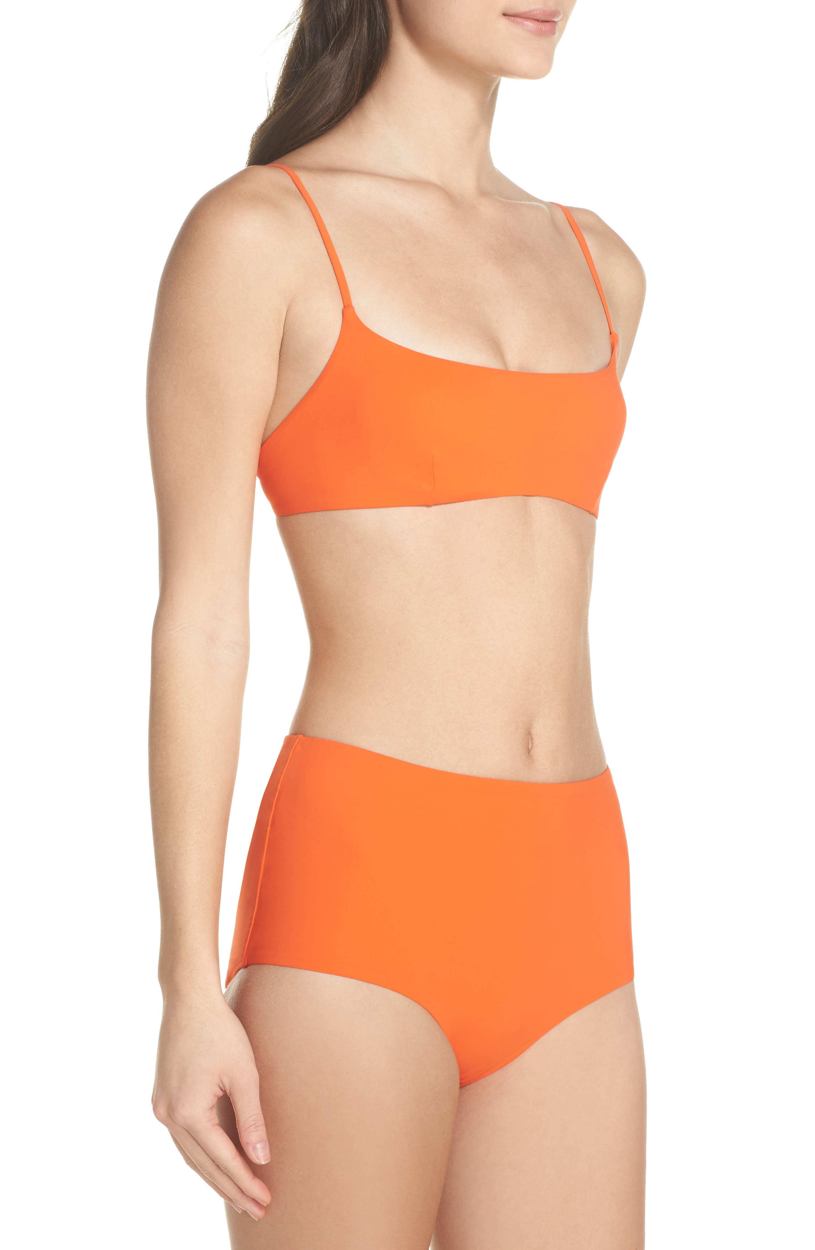 Marina High Waist Bikini Bottoms,                             Alternate thumbnail 9, color,                             844