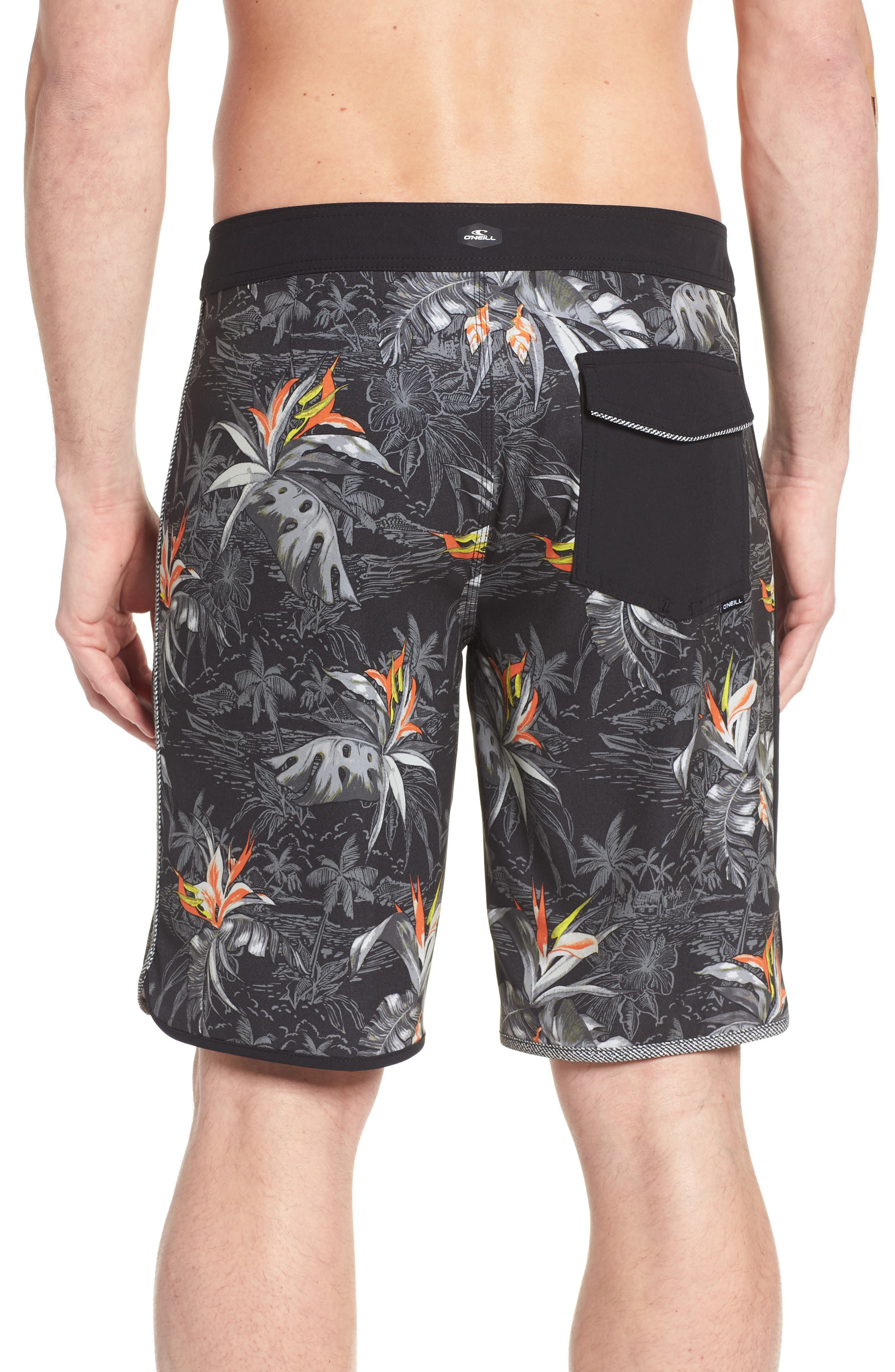Hyperfreak Islander Board Shorts,                             Alternate thumbnail 2, color,                             001