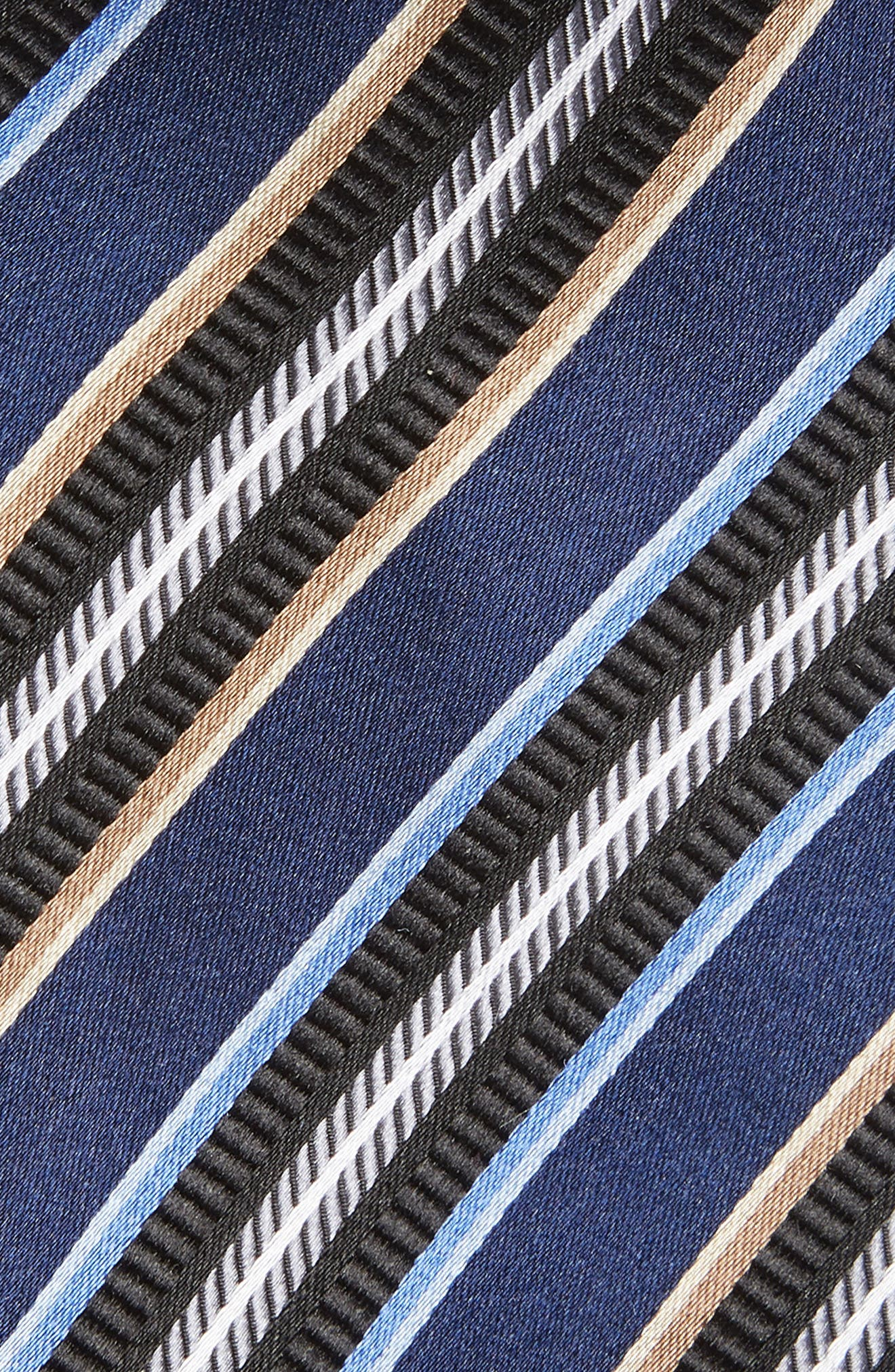 Striped Silk Tie,                             Alternate thumbnail 2, color,                             410