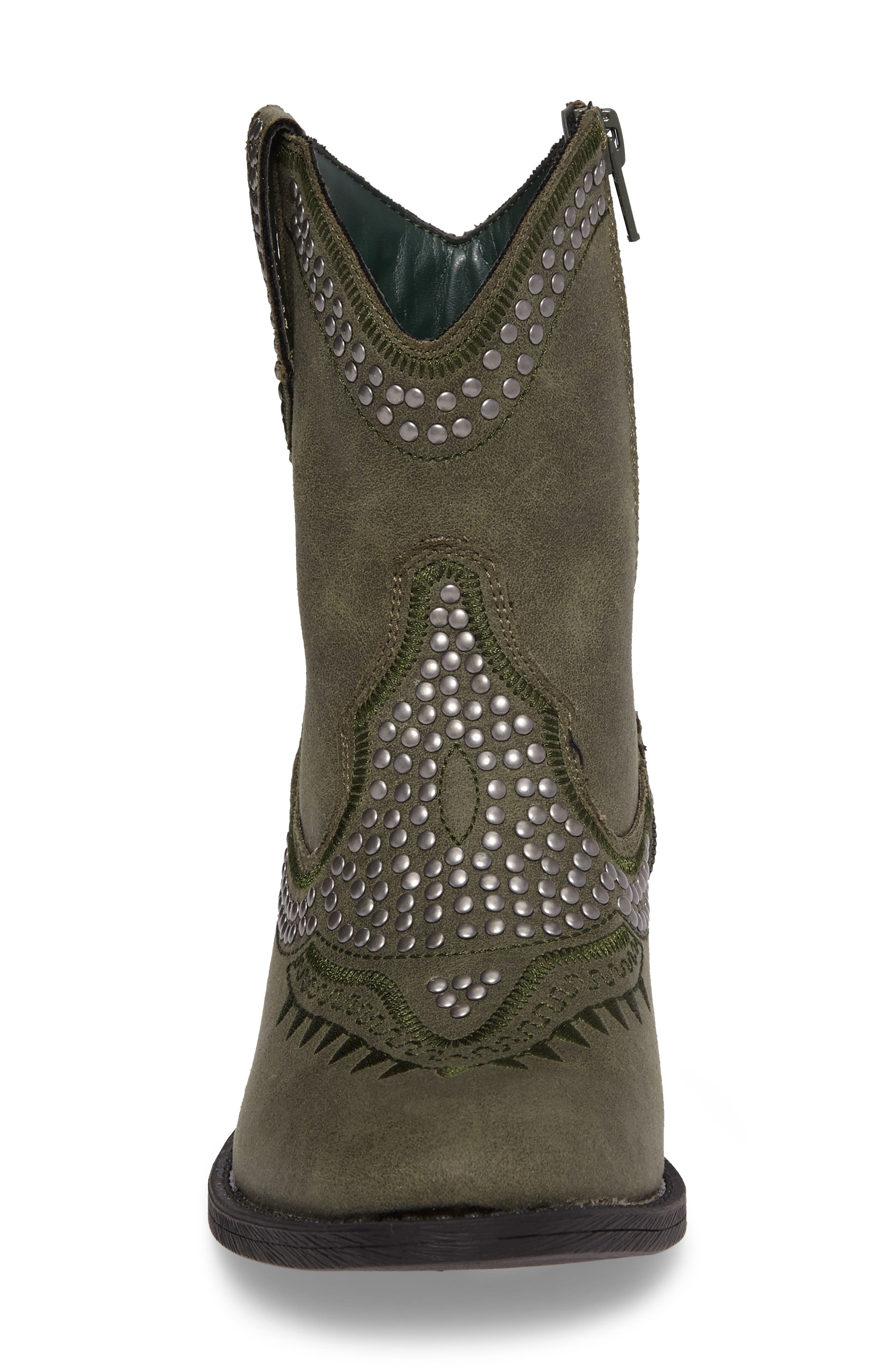 Amour Embellished Western Bootie,                             Alternate thumbnail 12, color,