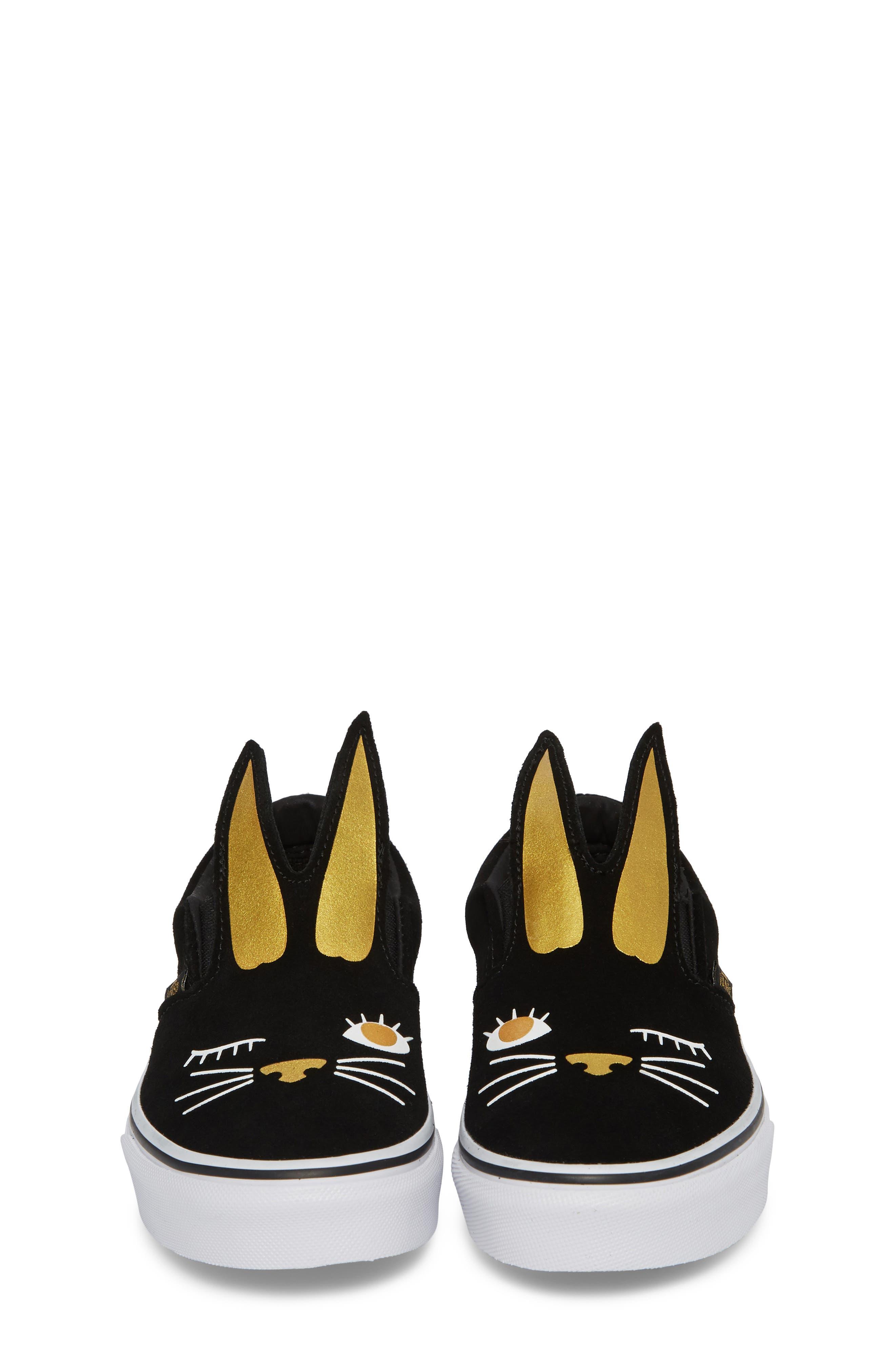 Slip-On Bunny Sneaker,                             Alternate thumbnail 9, color,