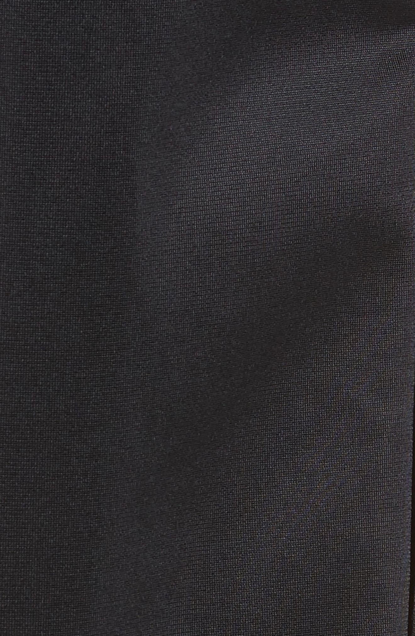 Polywarp Knit Pants,                             Alternate thumbnail 5, color,                             001