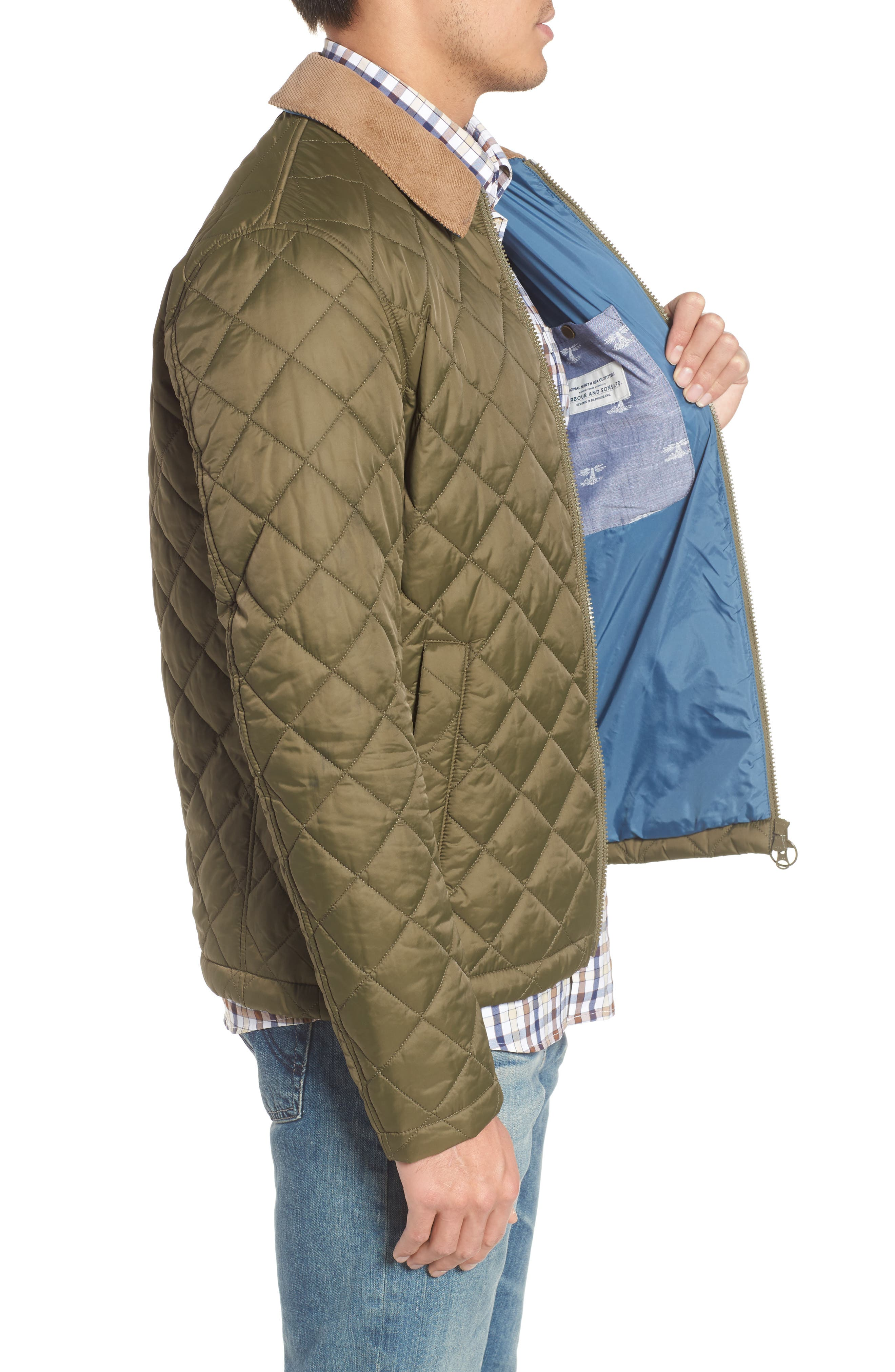 Helm Quilted Jacket,                             Alternate thumbnail 8, color,