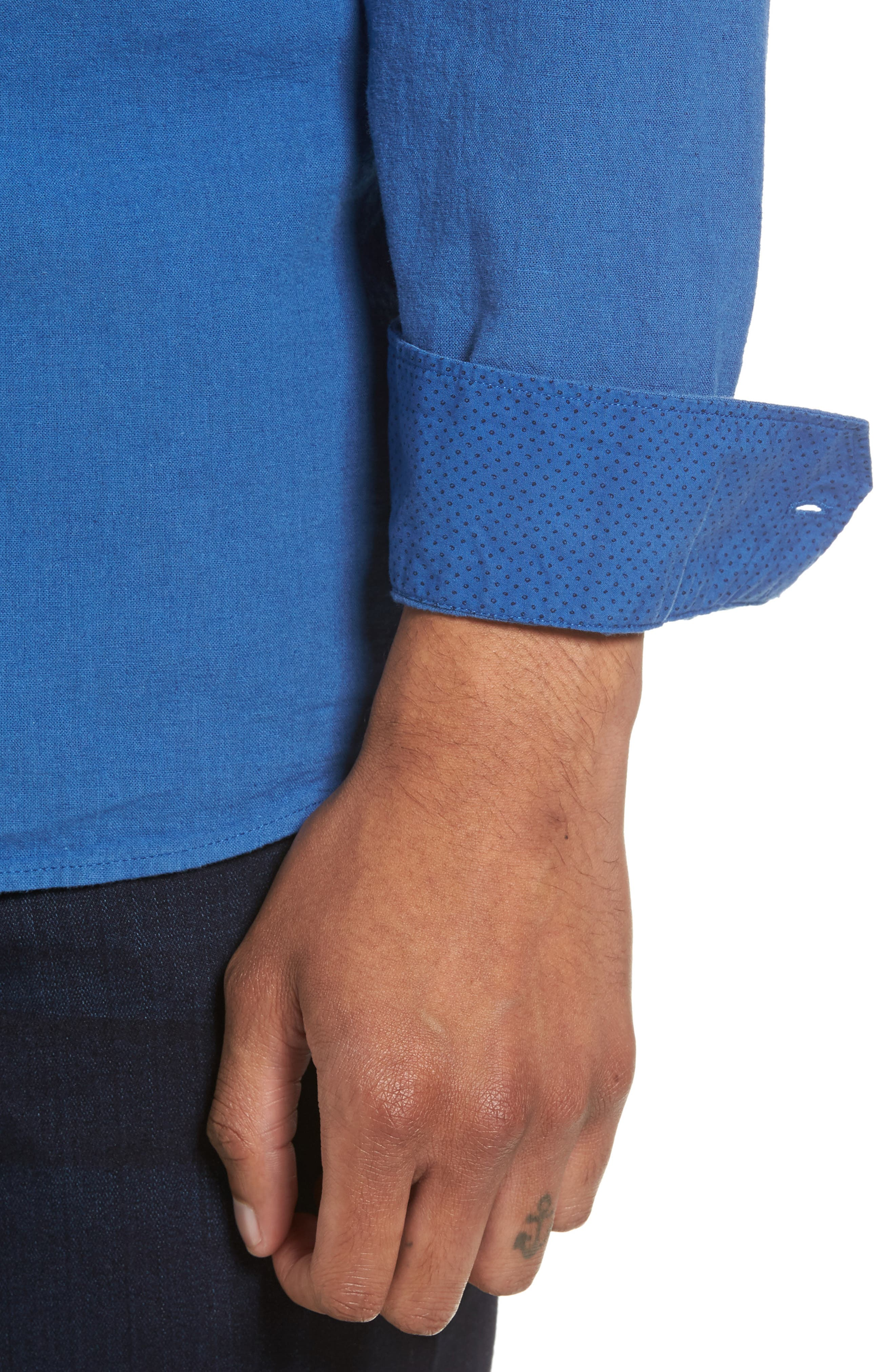 Carwash Modern Slim Fit Sport Shirt,                             Alternate thumbnail 11, color,