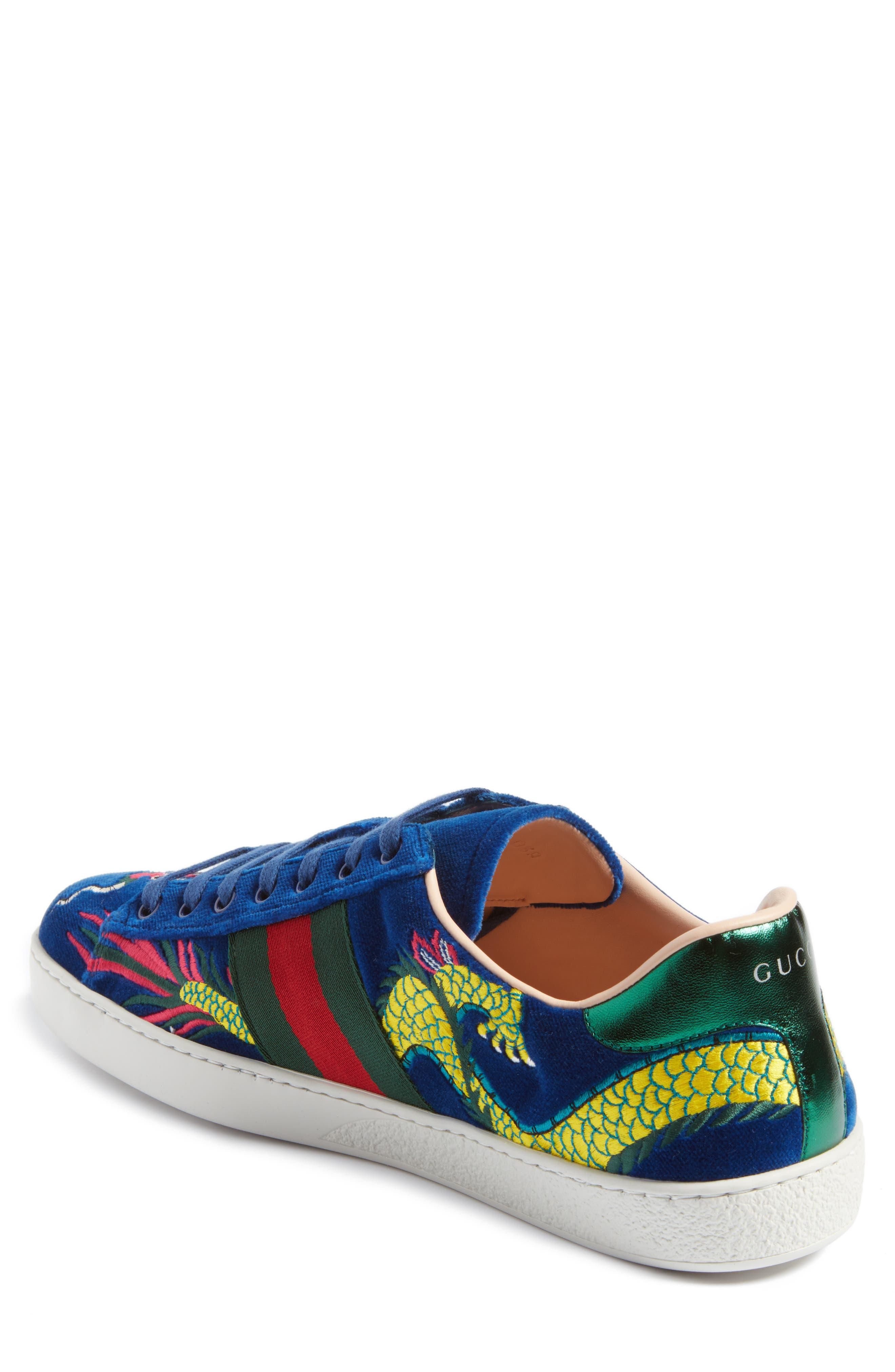New Ace Dragon Sneaker,                             Alternate thumbnail 2, color,                             493