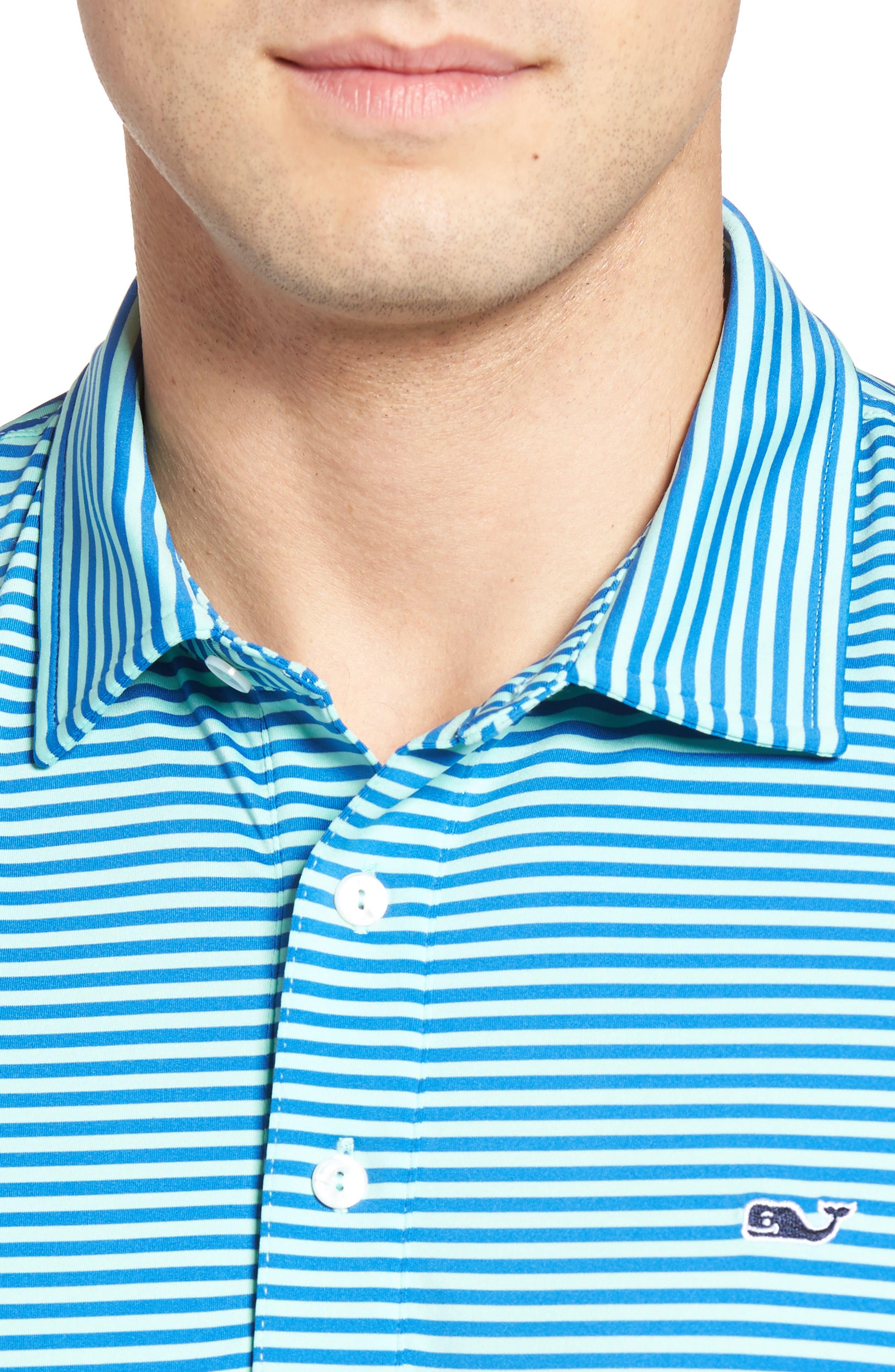 Kennedy Stripe Golf Polo,                             Alternate thumbnail 68, color,