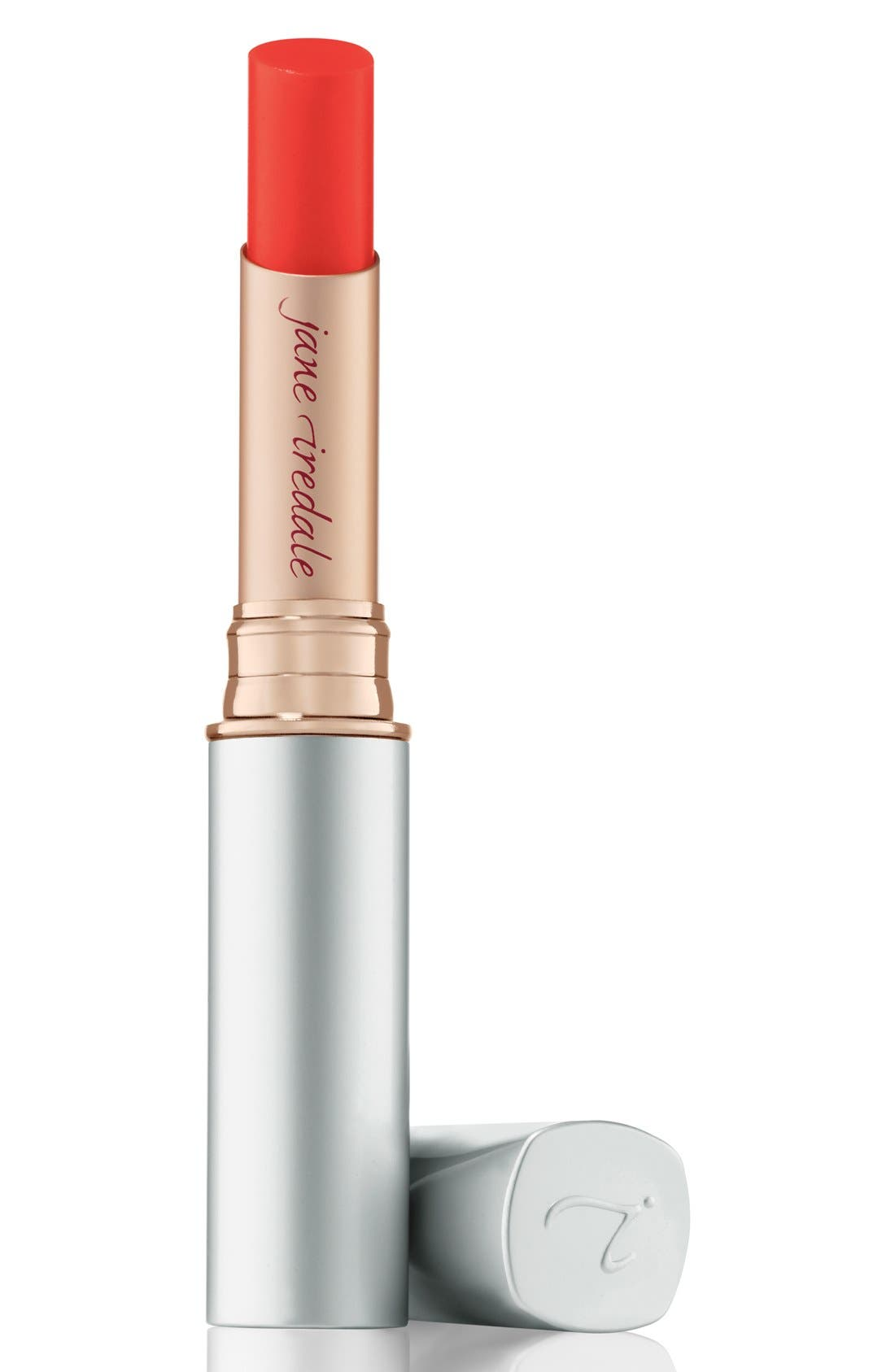 JANE IREDALE Just Kissed Lip & Cheek Stain, Main, color, FOREVER RED