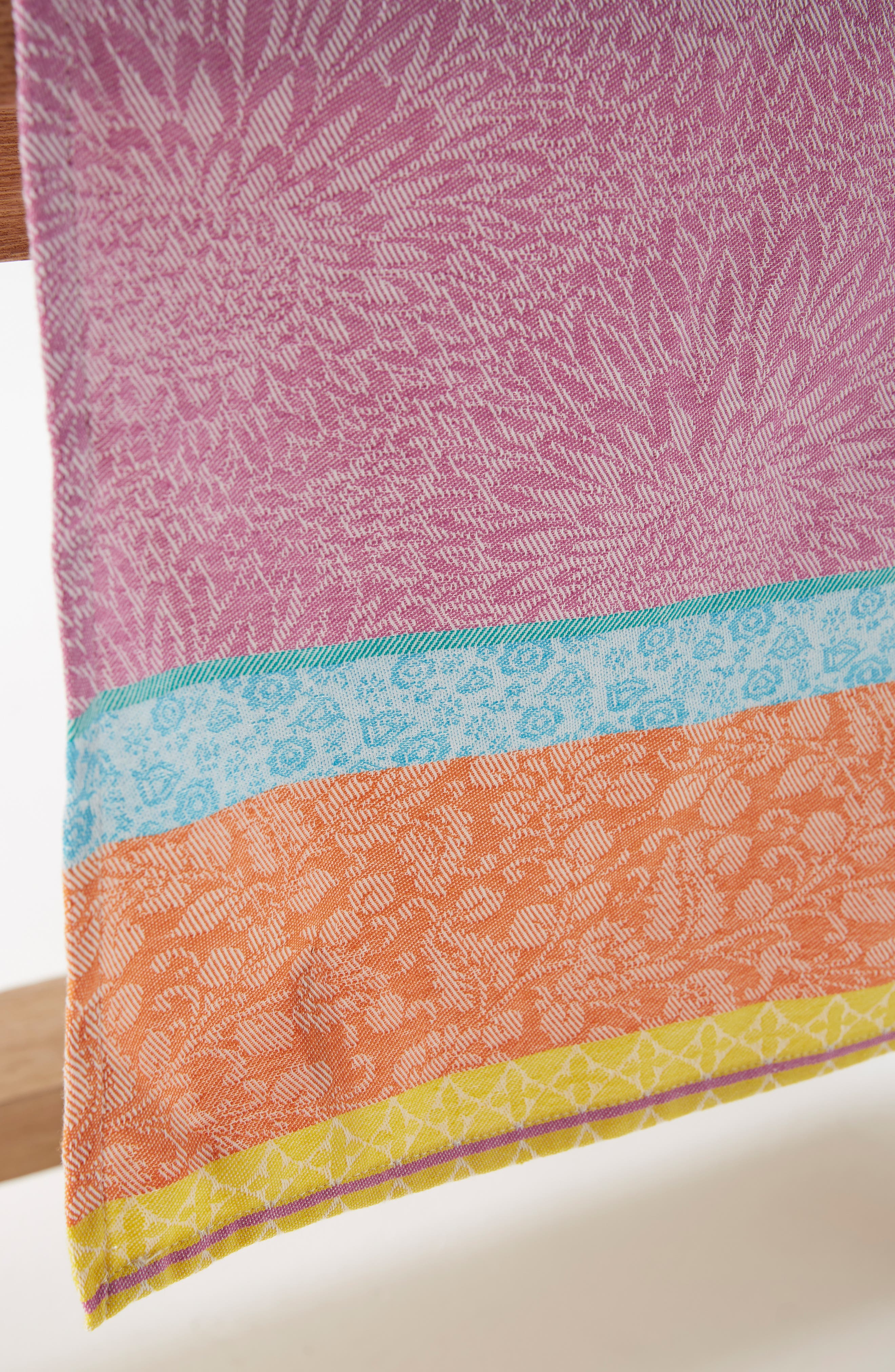 Florita Table Runner,                             Alternate thumbnail 2, color,                             BLUE MULTI