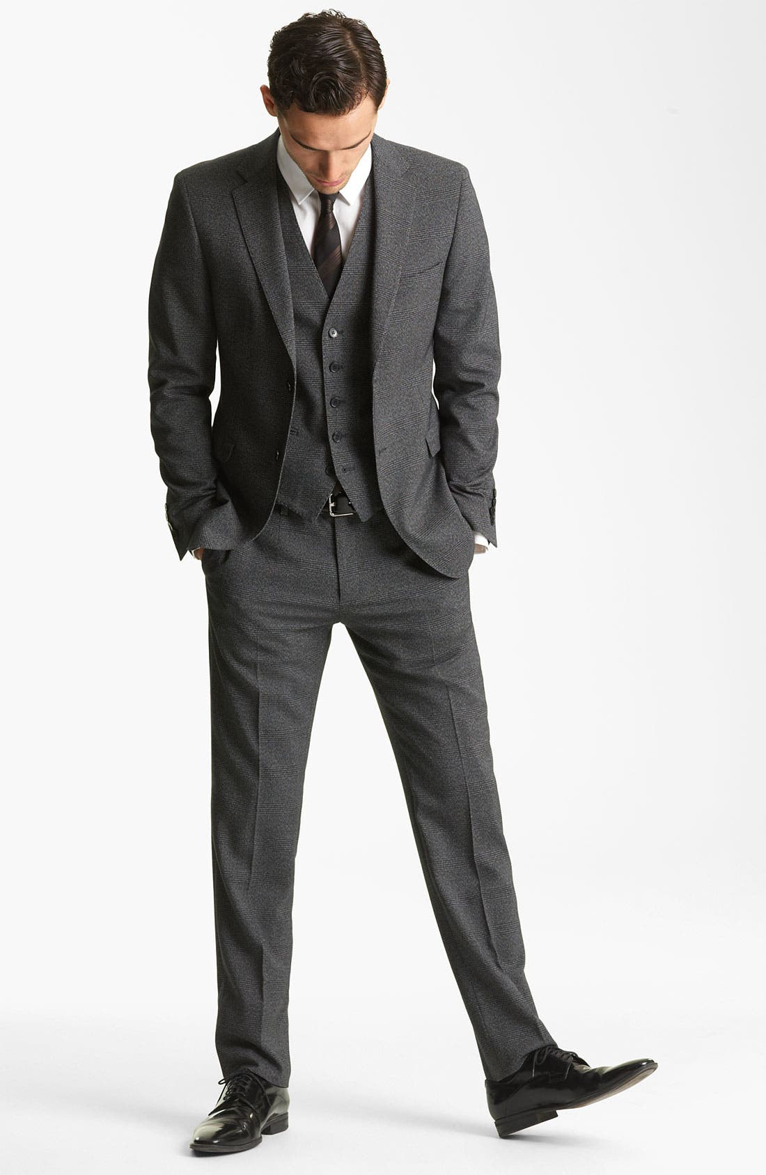 DOLCE&GABBANA,                             Three Piece Suit,                             Alternate thumbnail 6, color,                             021