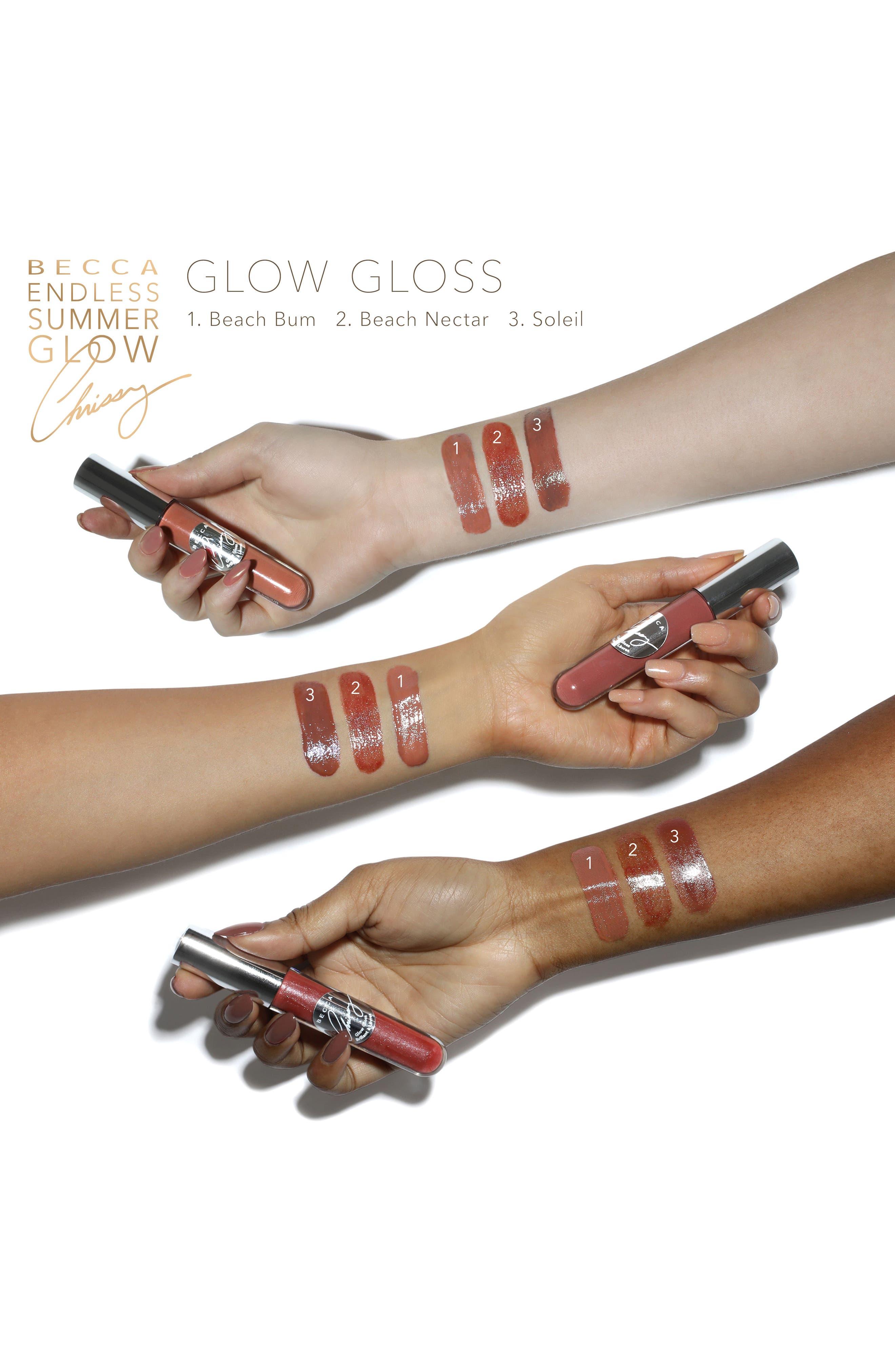 BECCA x Chrissy Teigen Glow Gloss,                             Alternate thumbnail 2, color,                             250
