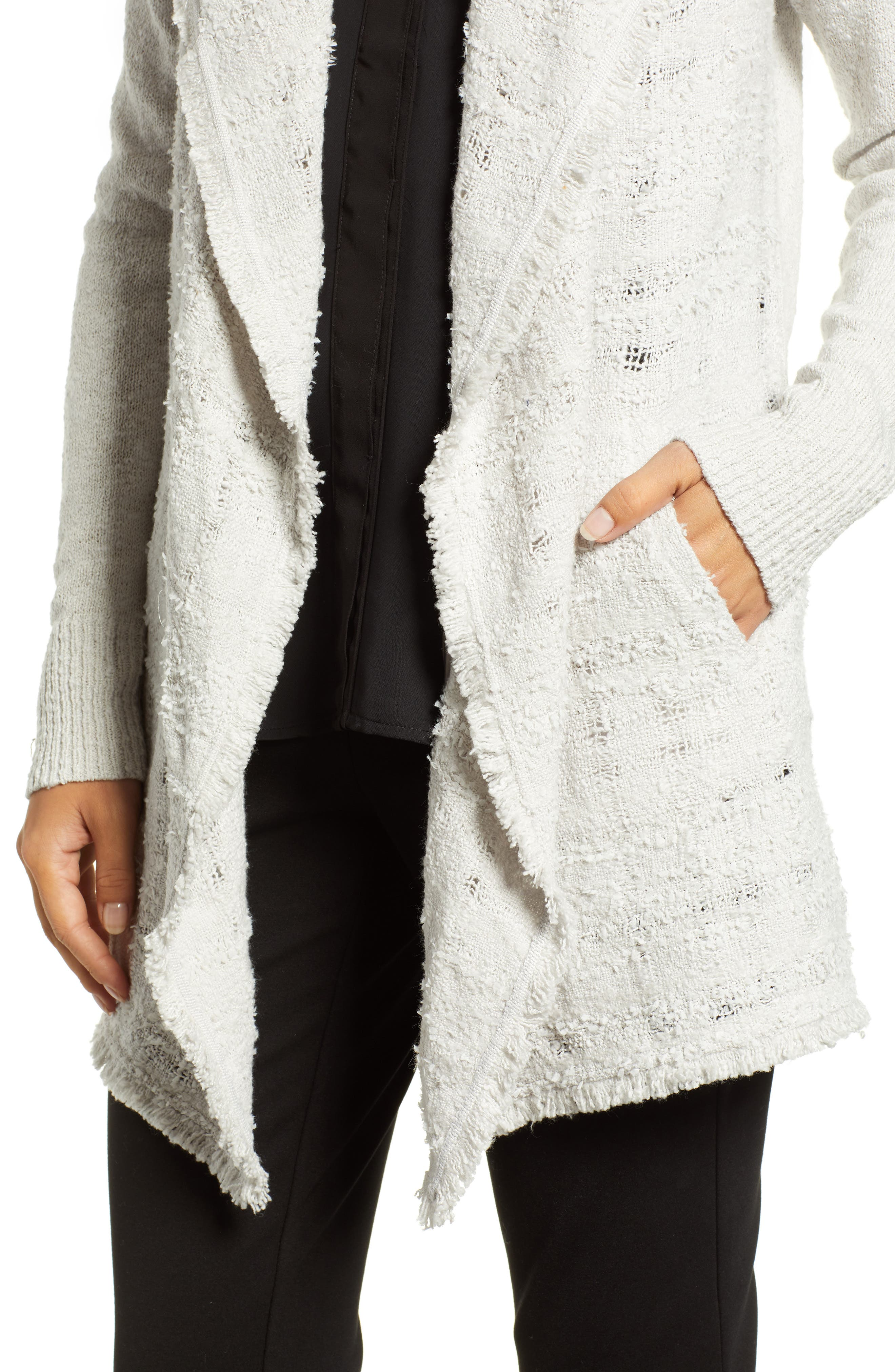 Carefree Cardigan,                             Alternate thumbnail 4, color,                             FROST