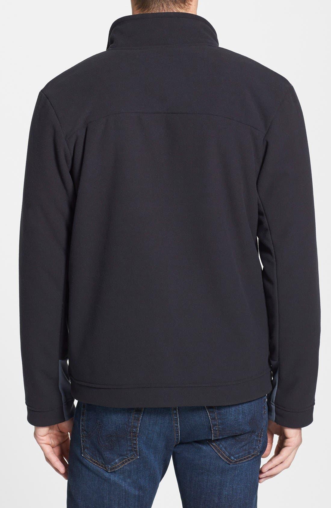 'Chimborazo' Zip Front Fleece Jacket,                             Alternate thumbnail 34, color,