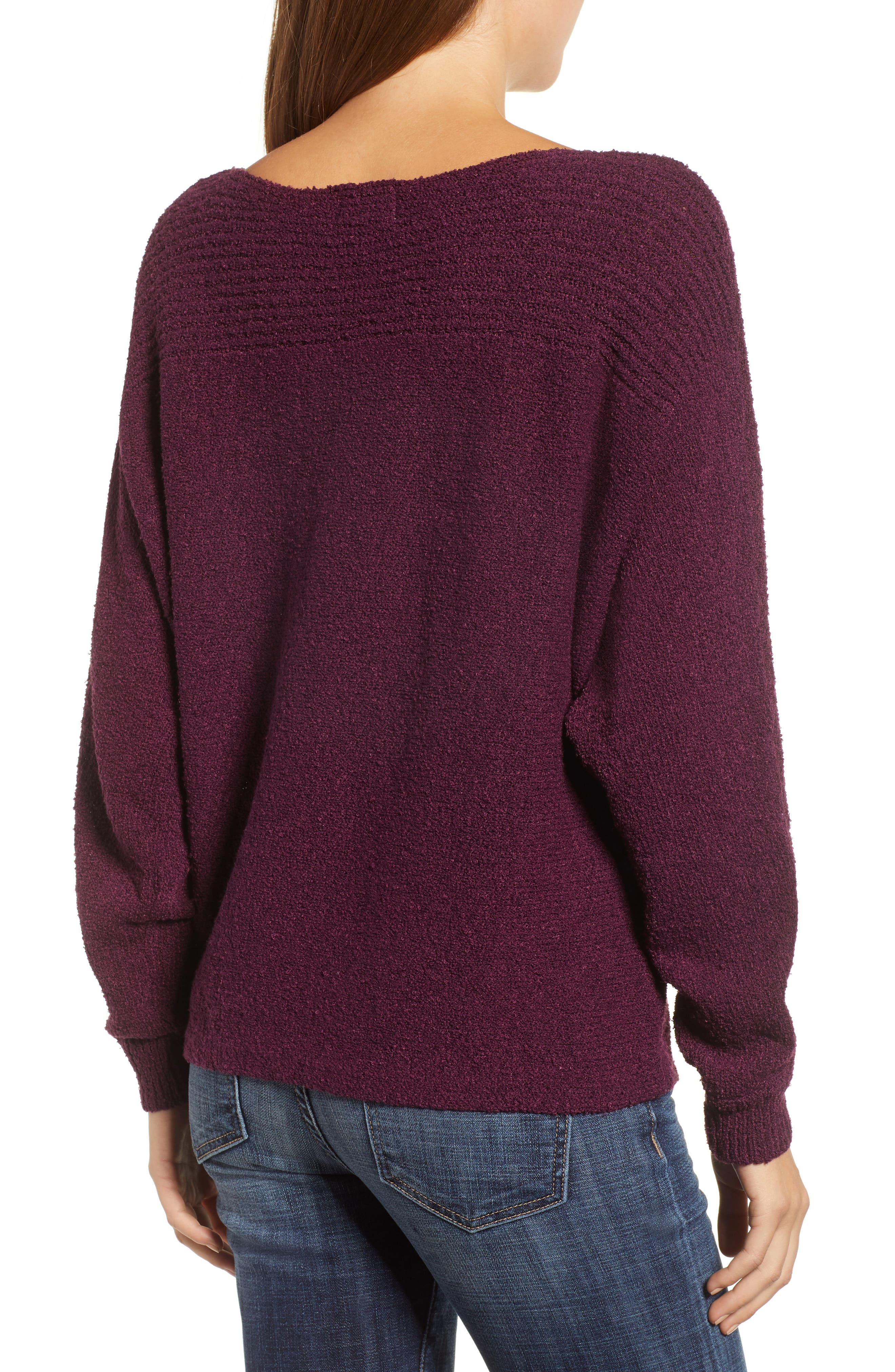 Calson<sup>®</sup> Dolman Sleeve Sweater,                             Alternate thumbnail 8, color,