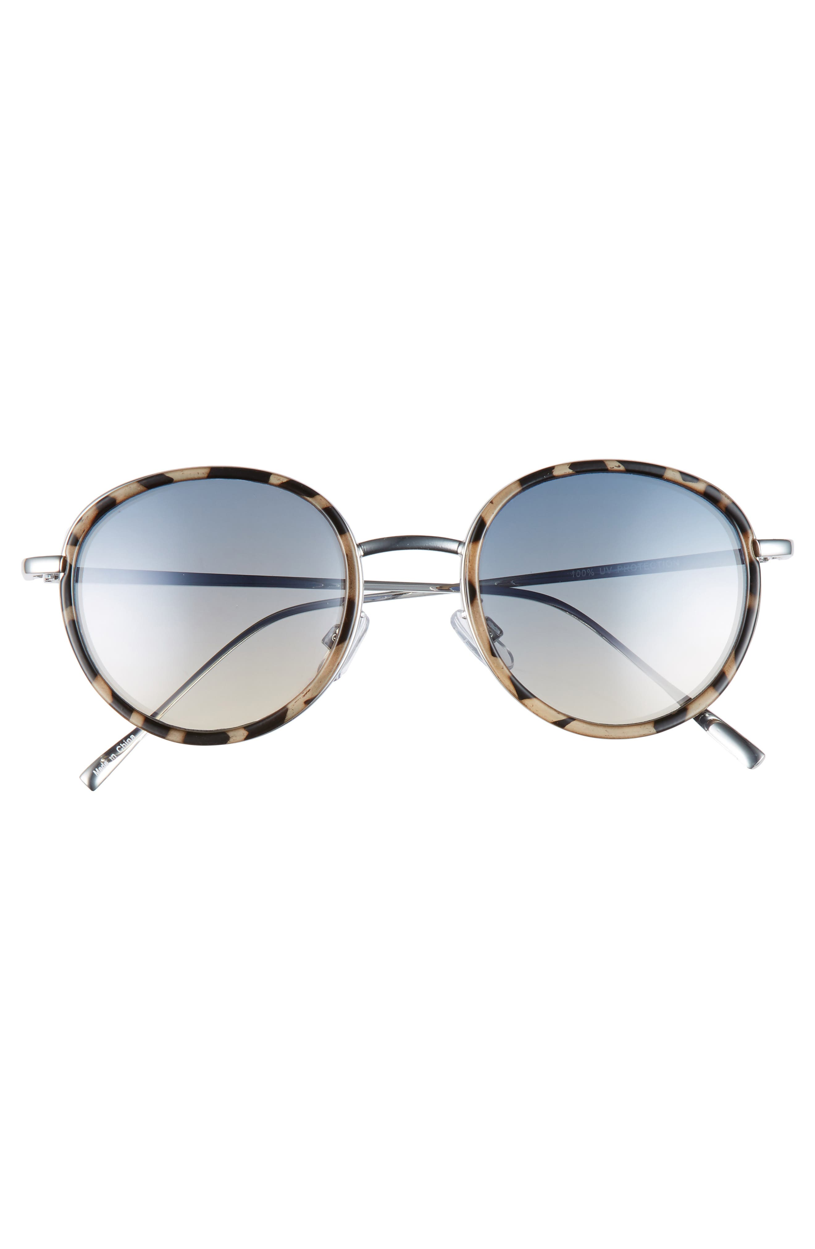 Round Sunglasses,                             Alternate thumbnail 3, color,                             400