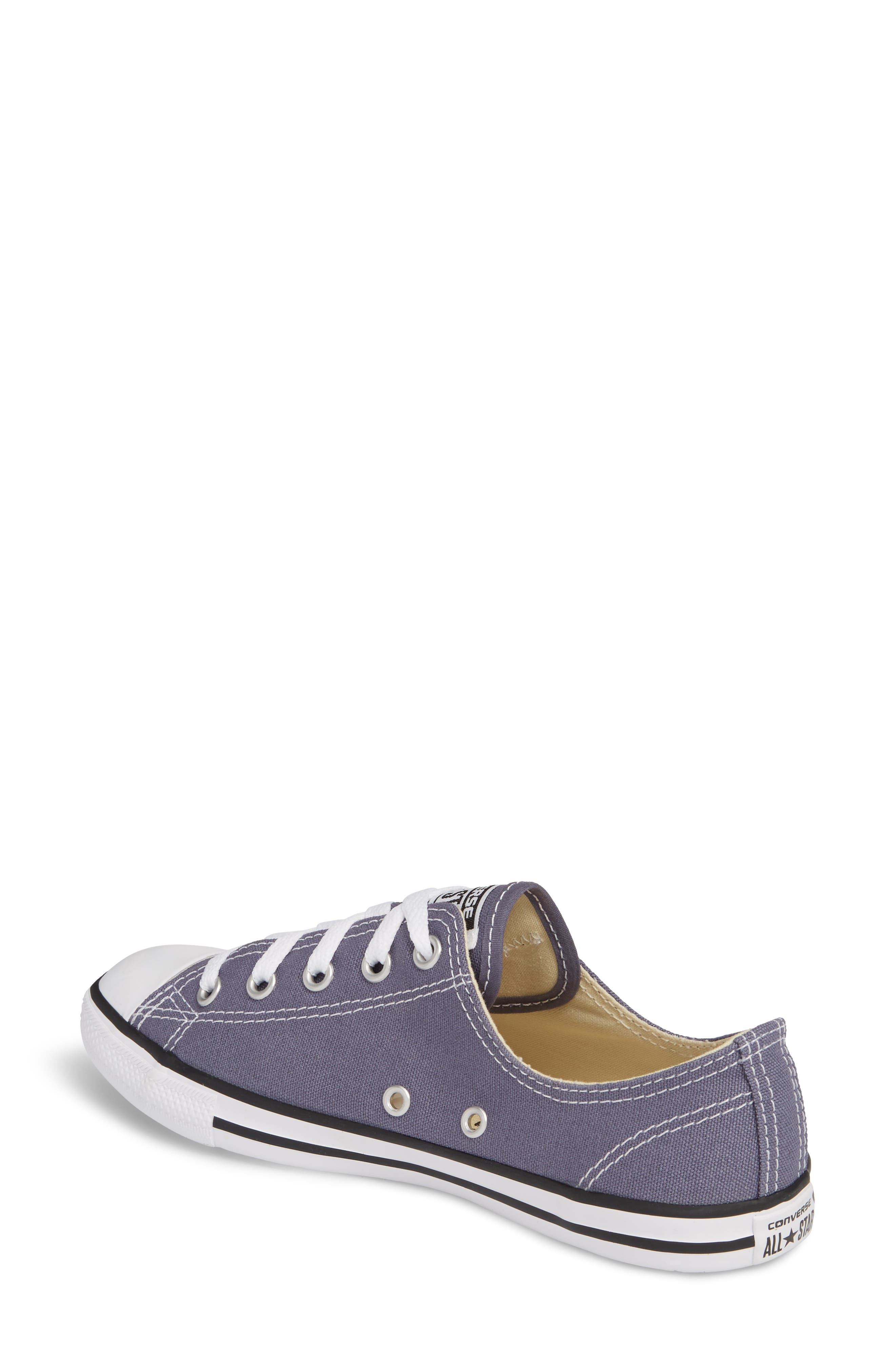 Chuck Taylor<sup>®</sup> All Star<sup>®</sup> Dainty Ox Low Top Sneaker,                             Alternate thumbnail 2, color,                             023