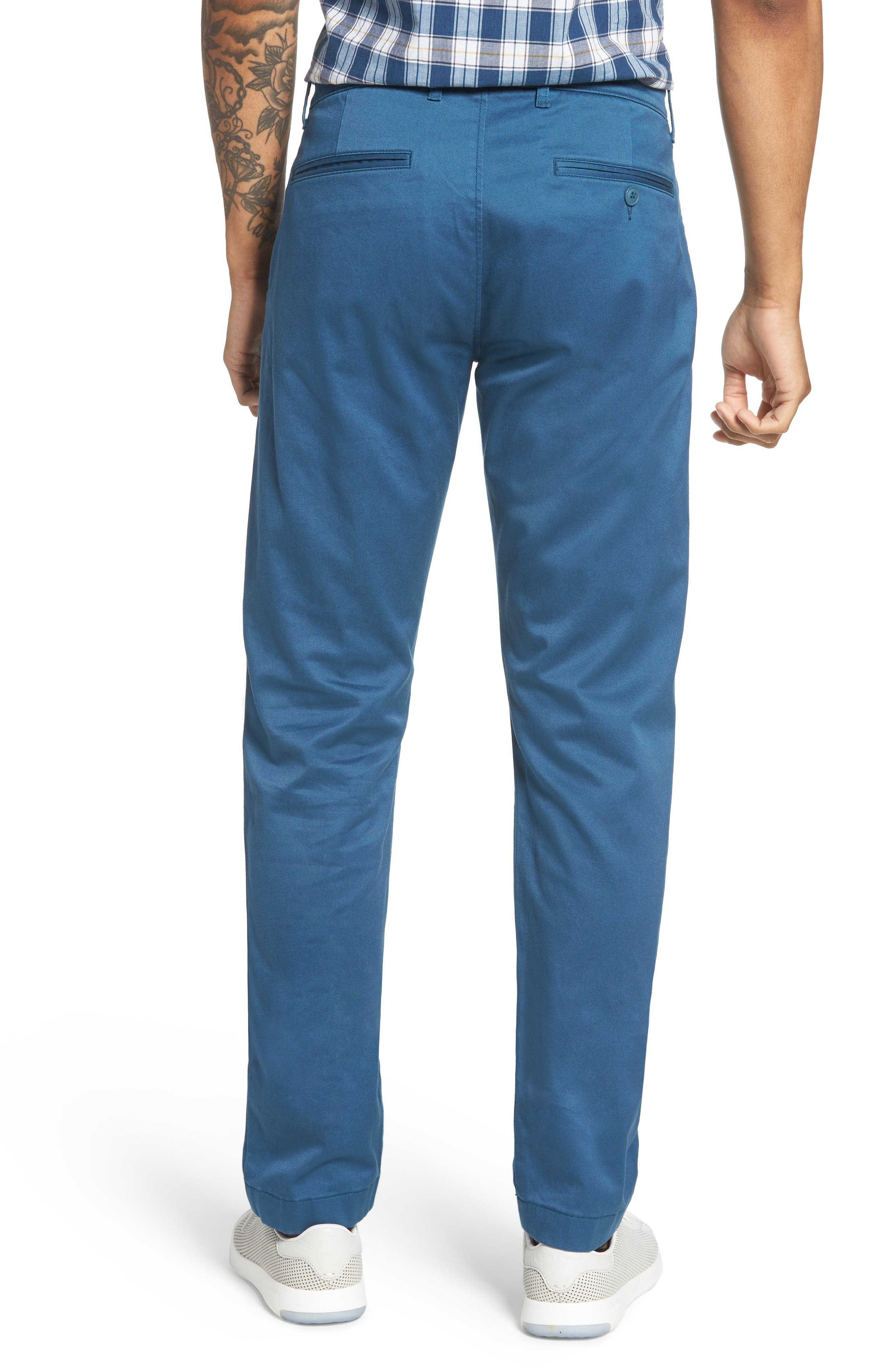 484 Slim Fit Stretch Chino Pants,                             Alternate thumbnail 21, color,