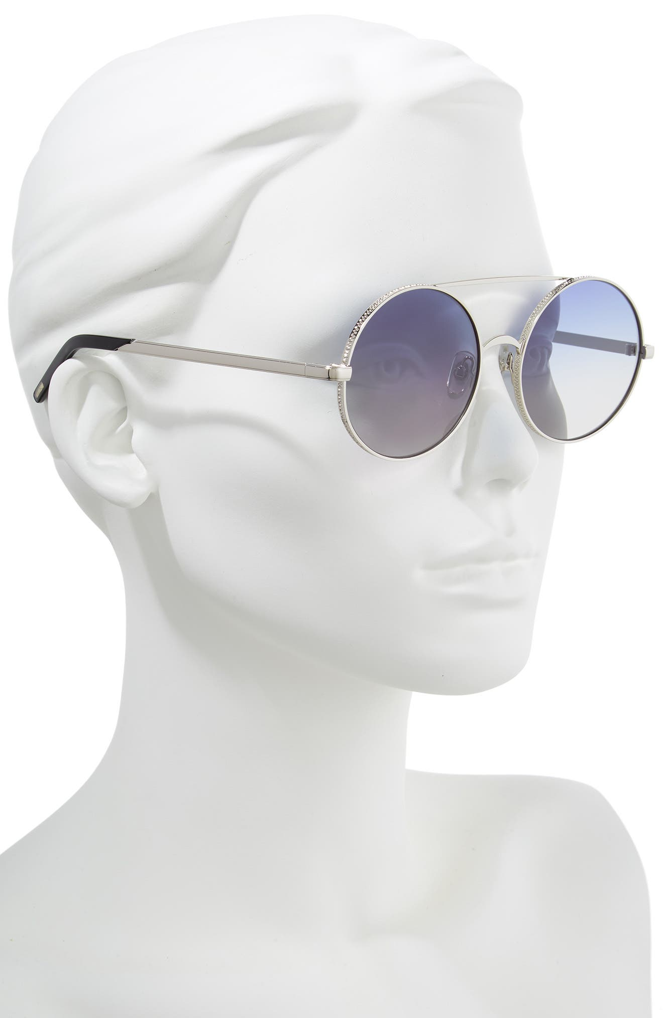 WILDFOX,                             Ace 55mm Round Sunglasses,                             Alternate thumbnail 2, color,                             040