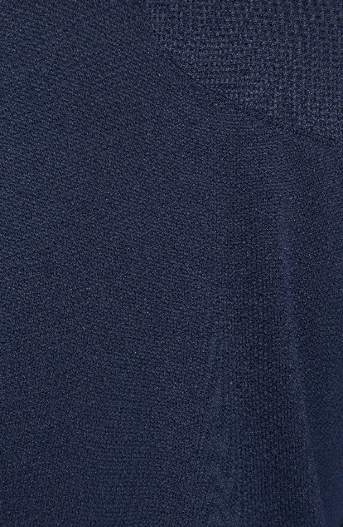 DryTec Half Zip Pullover,                             Alternate thumbnail 3, color,                             NAVY BLUE