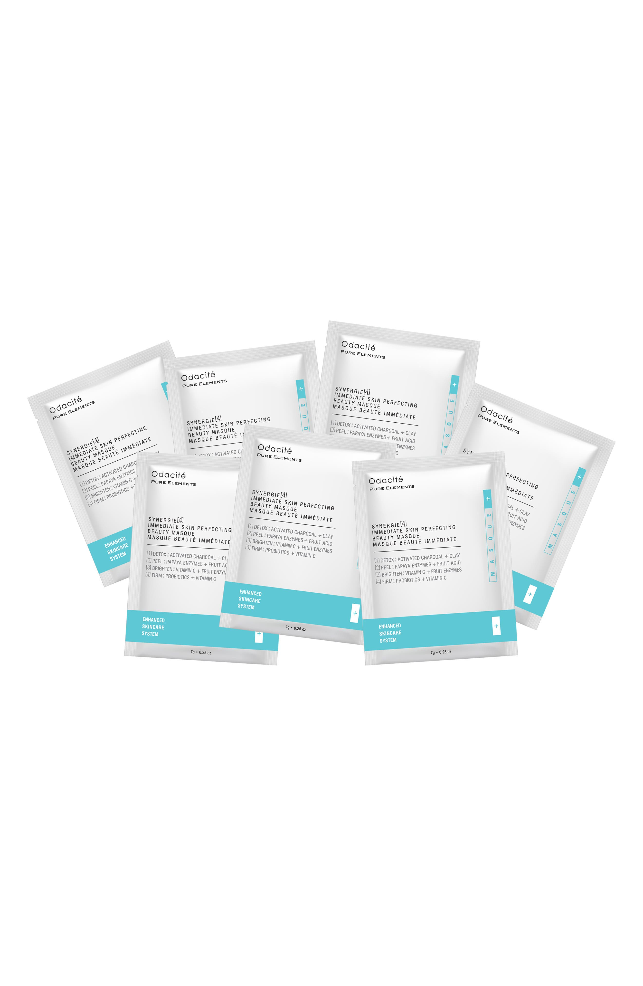 Synergie[4] Immediate Skin Perfecting Beauty Masque Sachet Box Set,                             Main thumbnail 1, color,                             NO COLOR