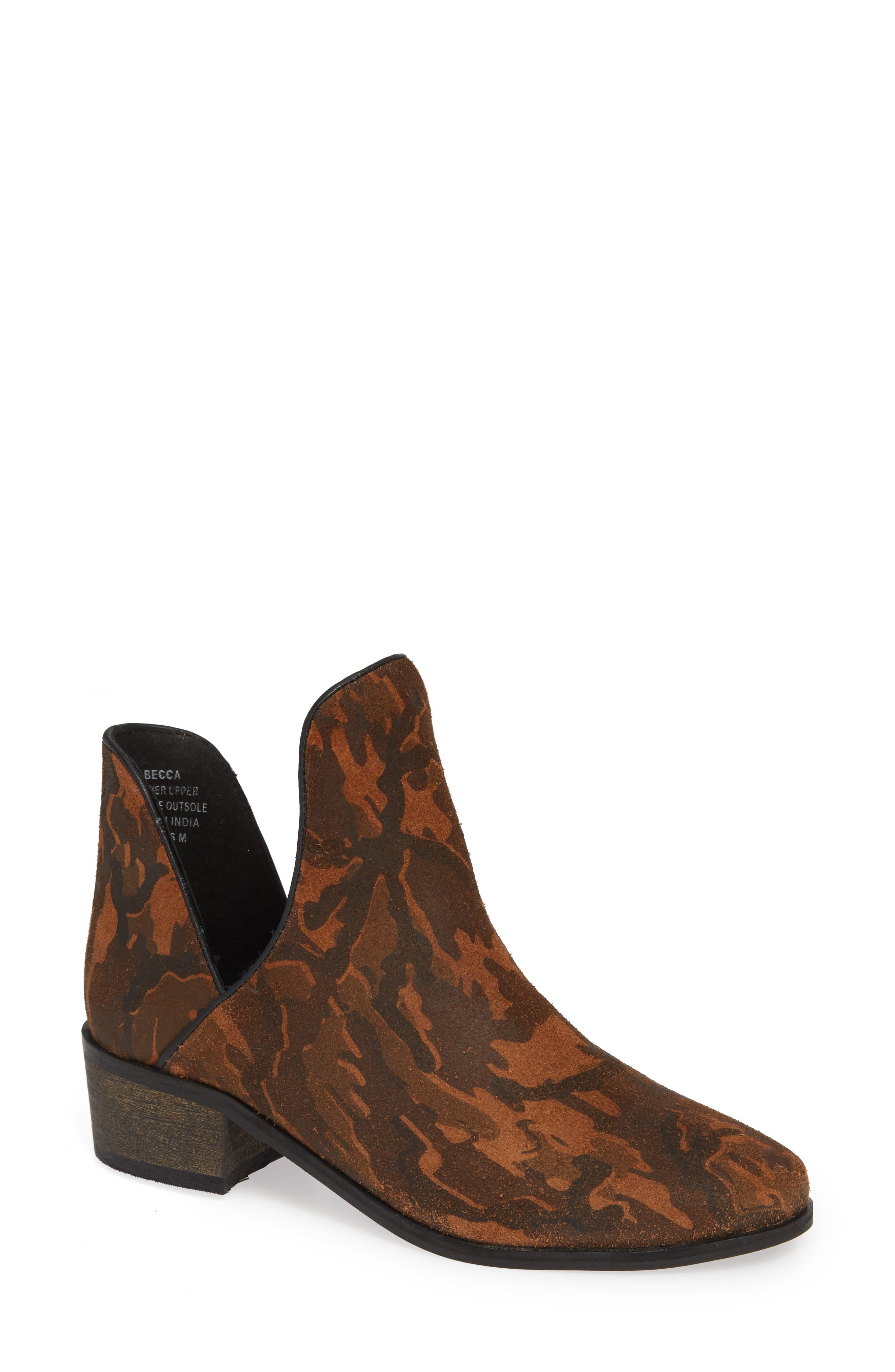 Coconuts By Matisse Becca Bootie- Brown